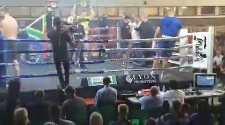 Már a meccs előtt kiesett a ringből a bokszoló, el is halasztották az egészet