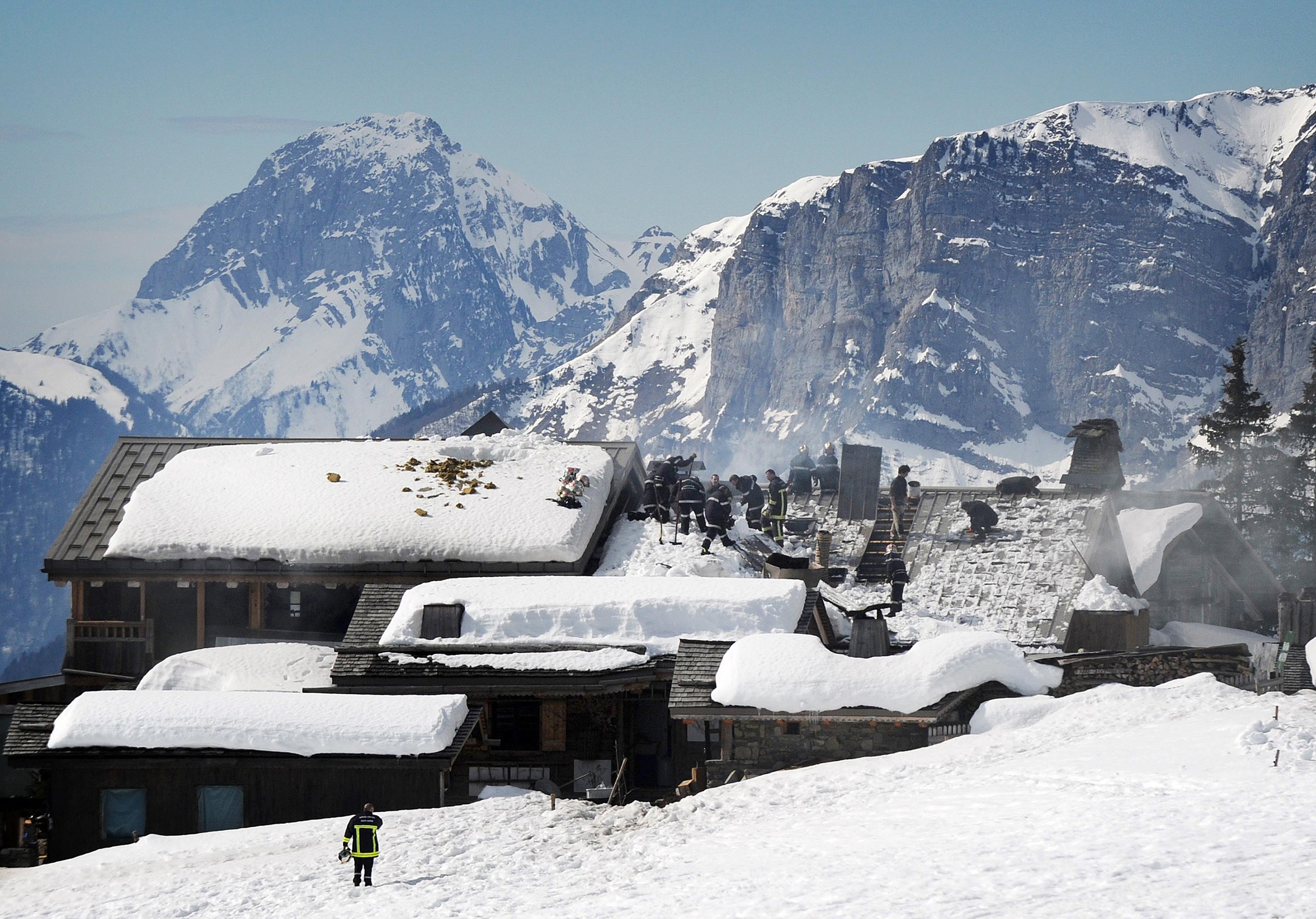 Már olvad az alpesi hó, pedig még nem kéne neki