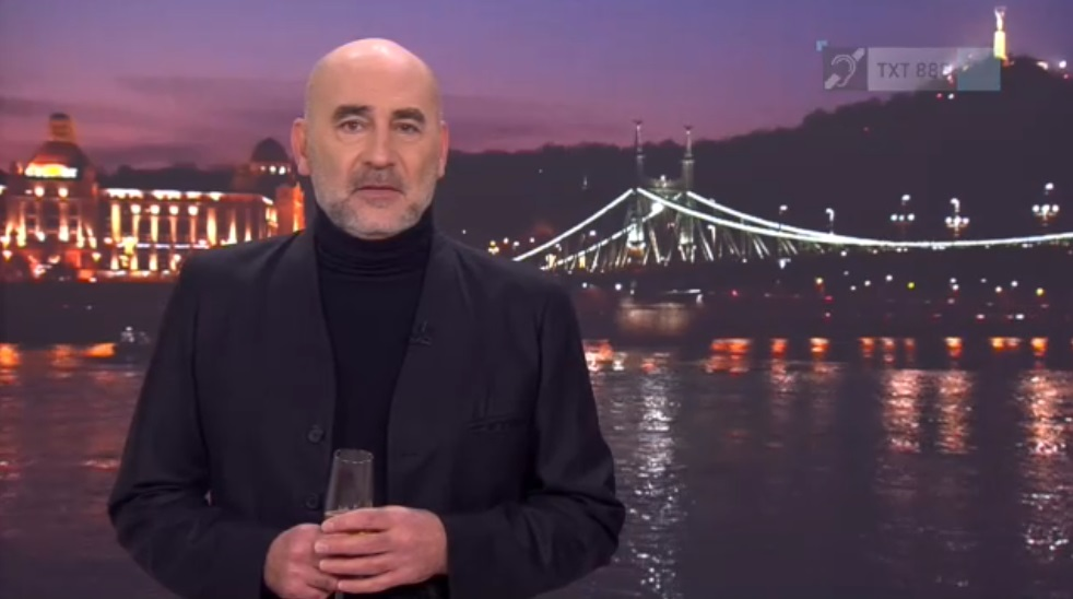 """""""Ne maradjunk némák"""" - Kulka János mondta az újévi köszöntőt az RTL Klubon"""