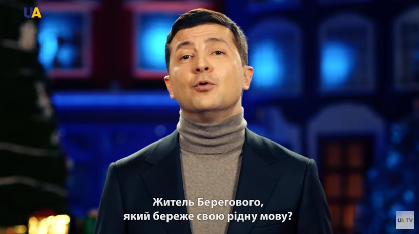 Magyarul is megszólalt az újévi beszédében az ukrán elnök