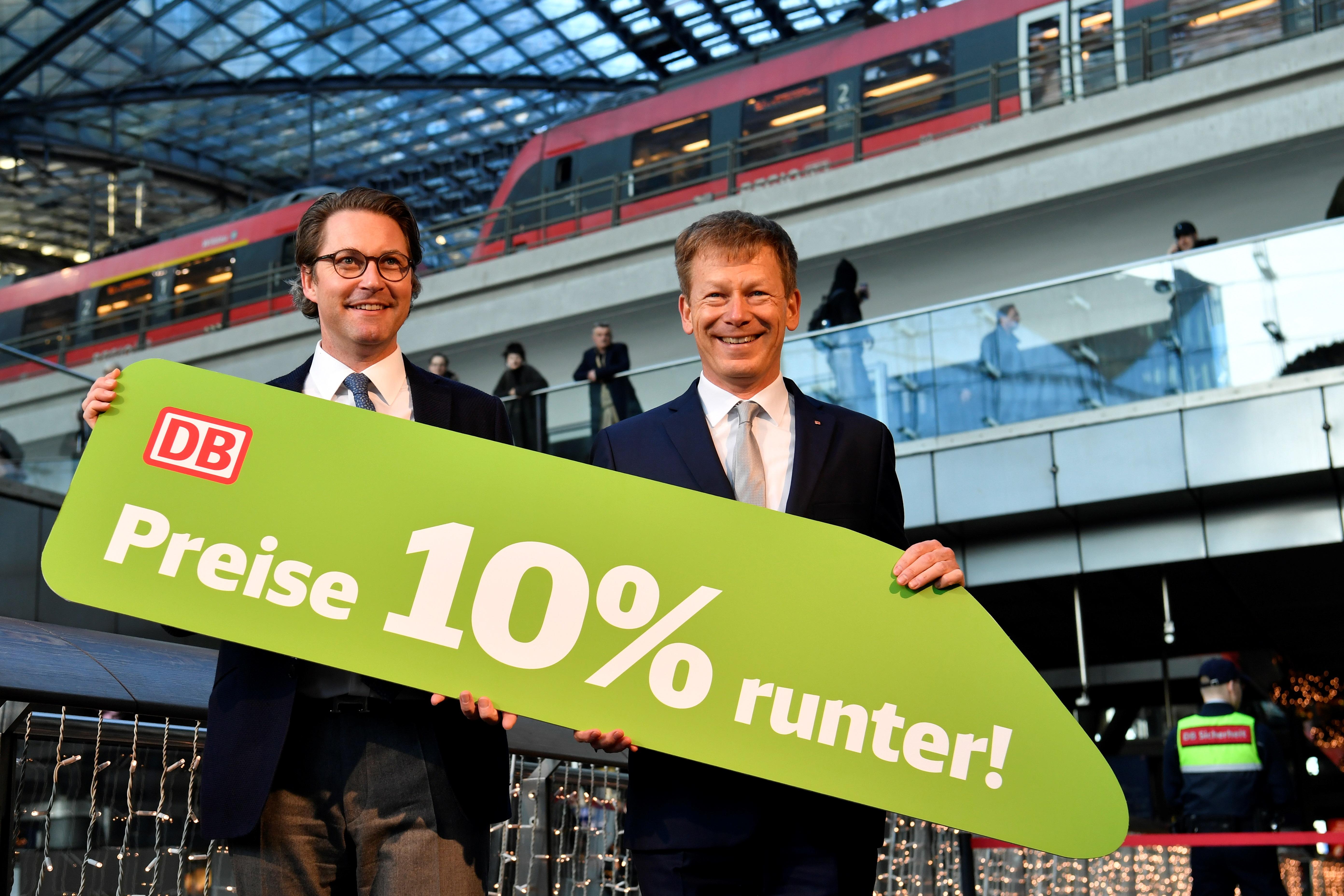 17 éve először csökken a távolsági vonatutak ára Németországban a klímavészhelyzet miatt
