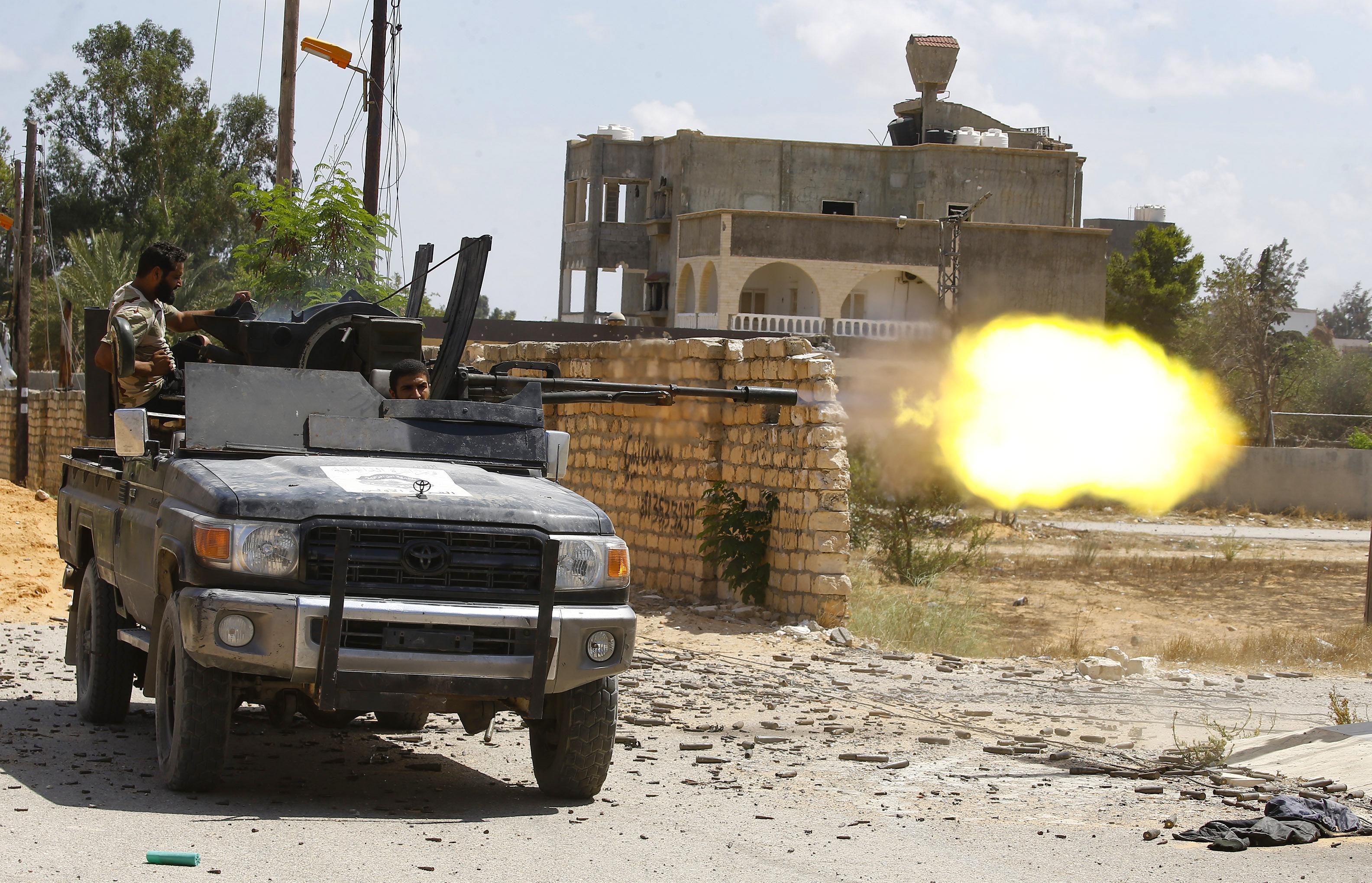 A Pentagon szerint a Wagner Group orosz zsoldosai aláaknázták Tripoli környékét