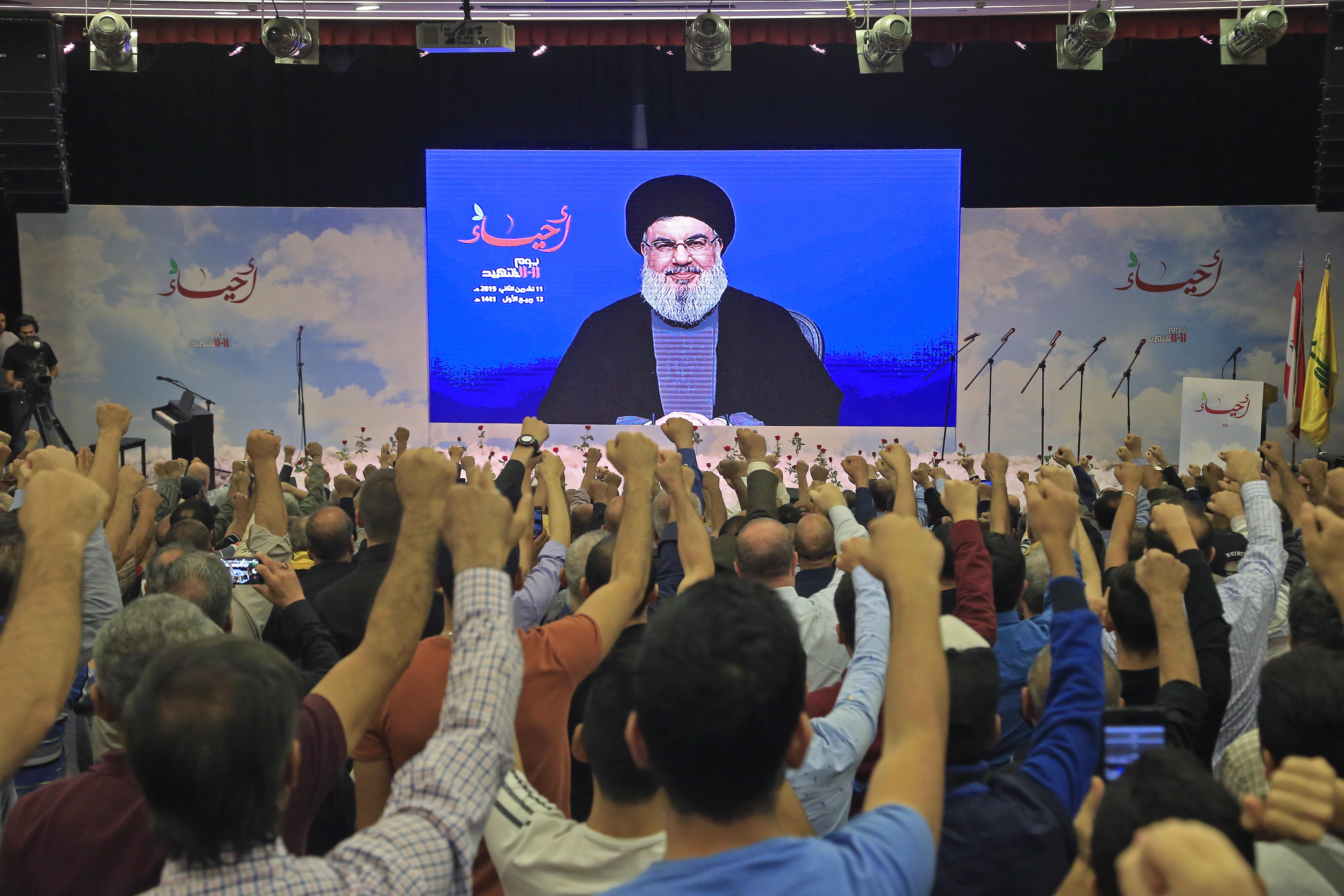 A Hezbollah vezetője szerint ki fogják űzni az amerikai katonákat a Közel-Keletről
