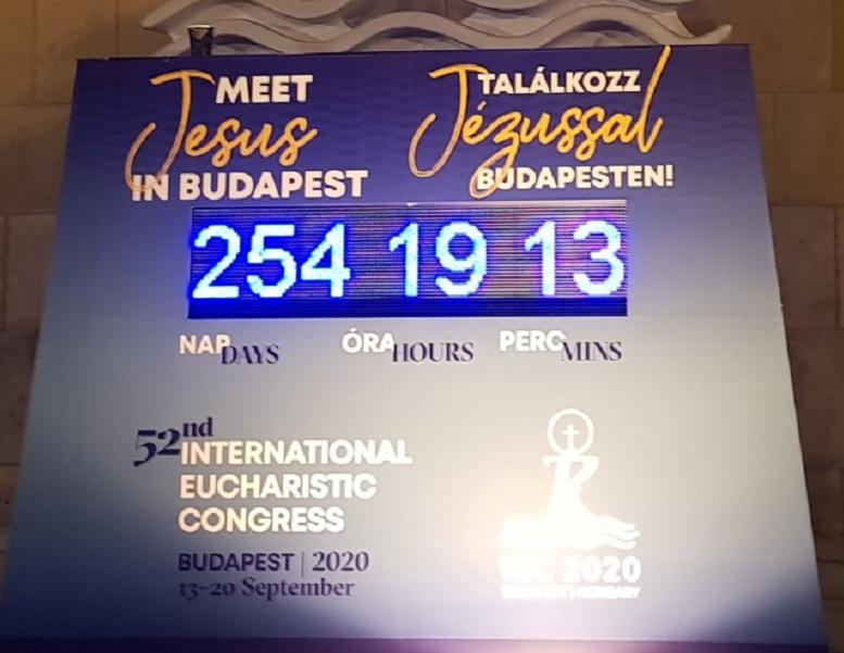 A misebor zavarhatta meg a budapesti Eucharisztikus Kongresszus marketingeseit