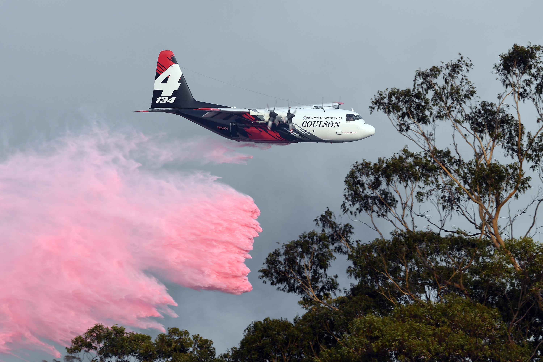 Lezuhant egy tűzoltásra induló repülő Ausztráliában