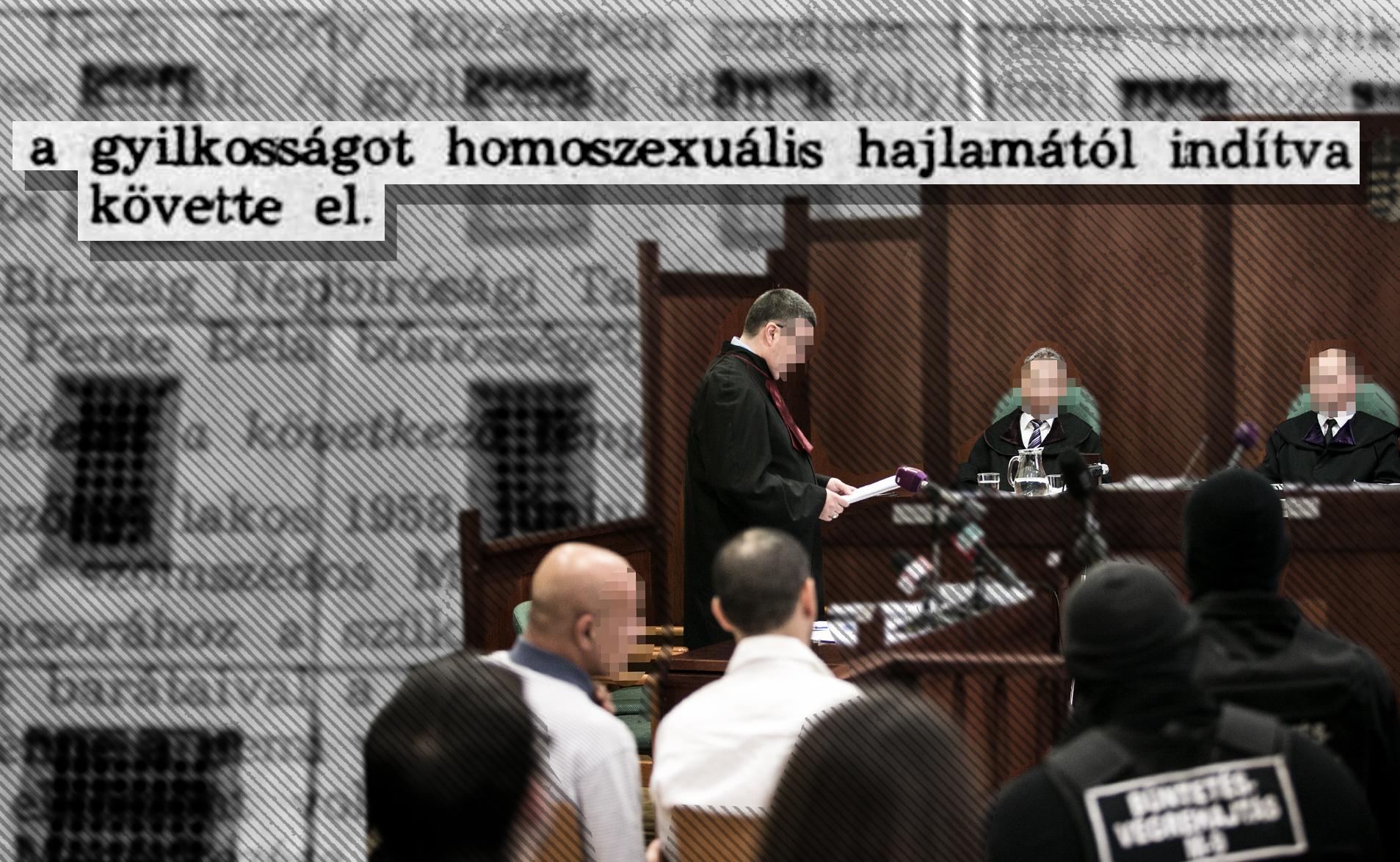 A győri bíróság egy 50 évvel ezelőtti, ferde hajlamúakat emlegető ítélet alapján enyhítette egy gyilkos büntetését