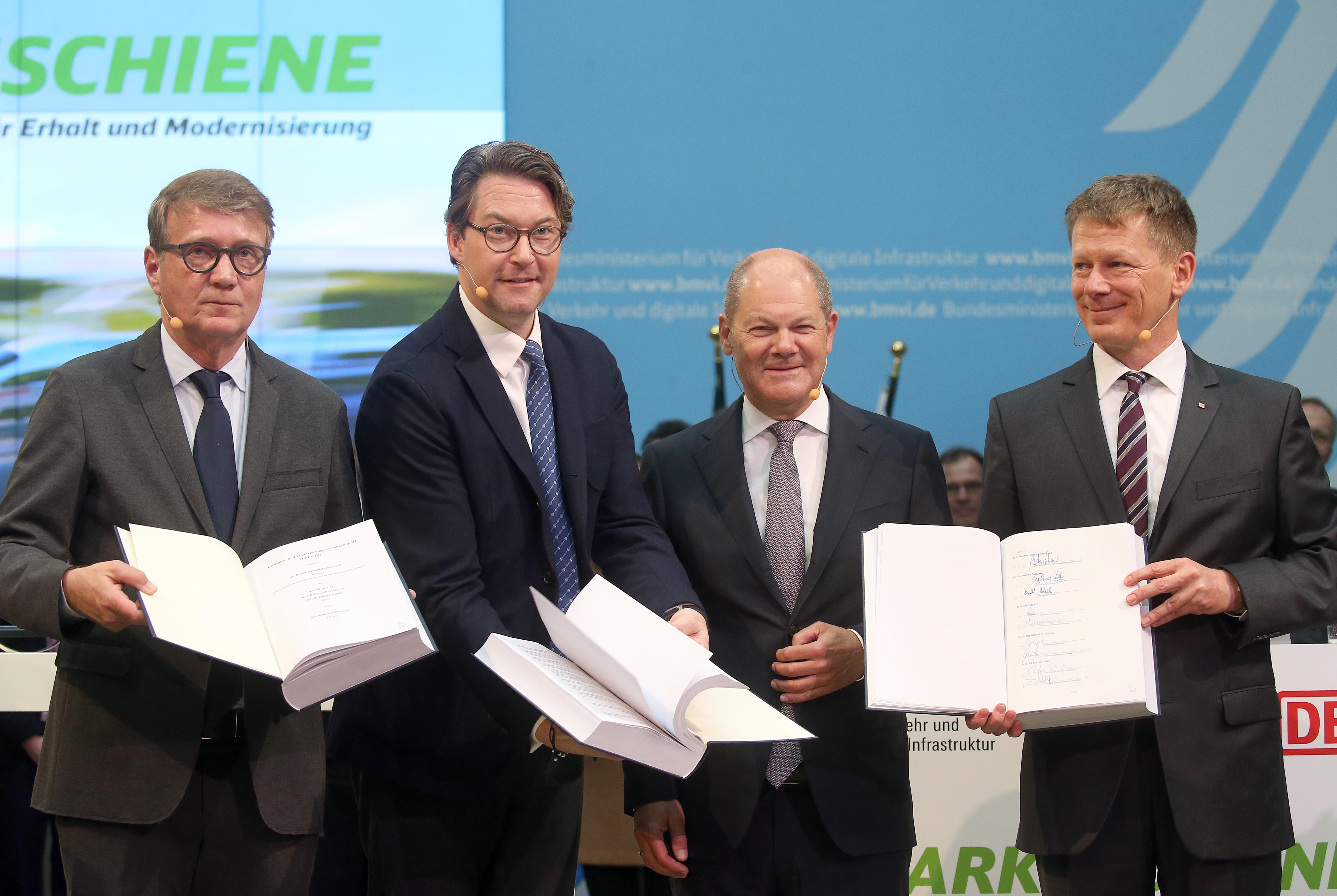 A német történelem legnagyobb vasútfejlesztése kezdődik