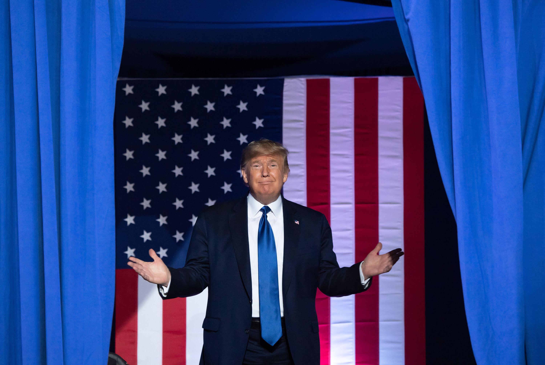 Az év legnagyobb show-ja lehet Donald Trump szenátusi pere