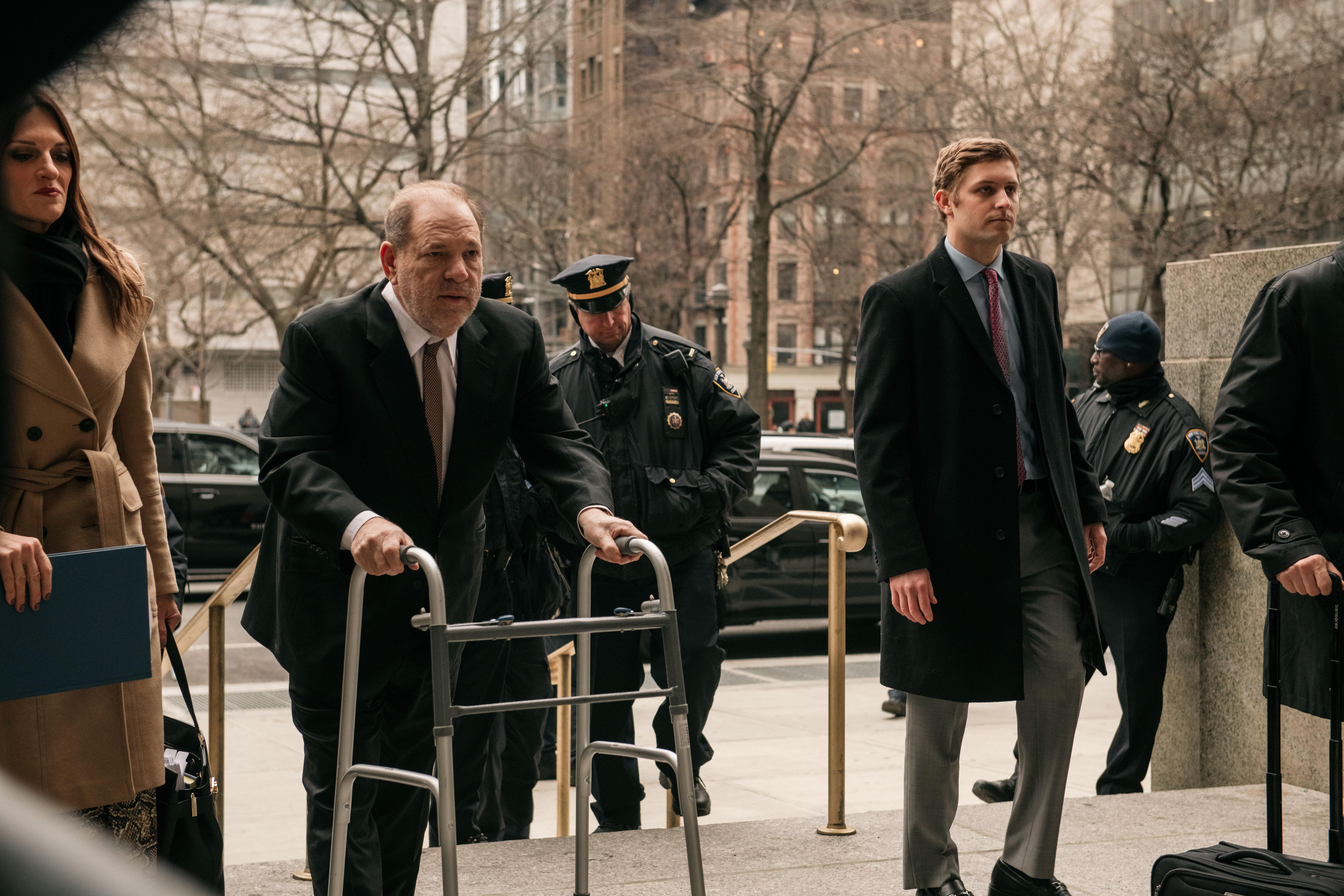 Hat újabb esetben vádolják szexuális erőszakkal Harvey Weinstein filmproducert