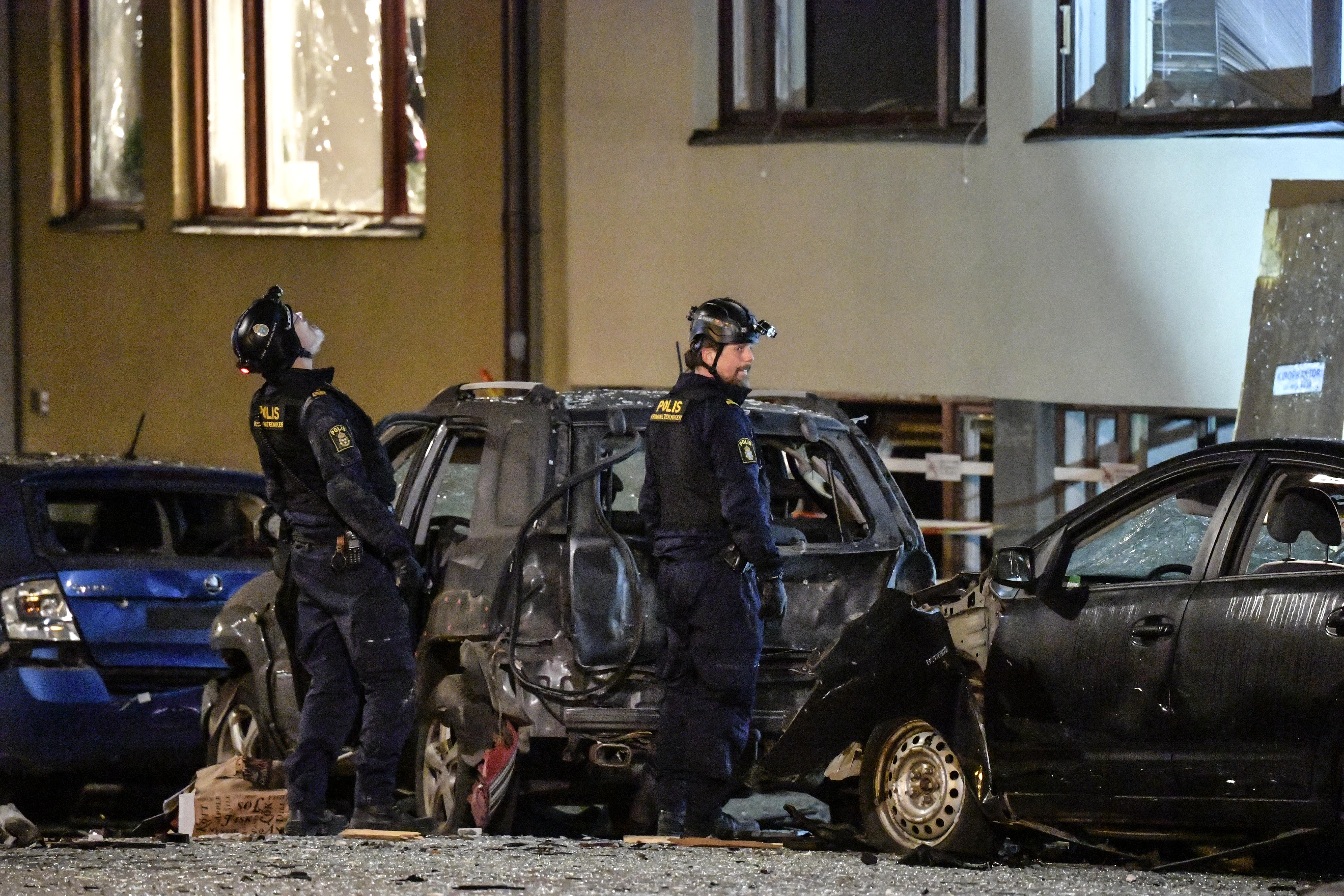 60 százalékkal nőtt a robbantások száma Svédországban 2019-ben