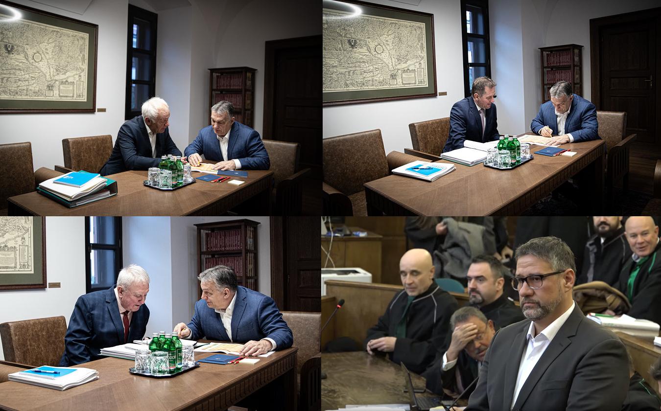 Simonka nem ért rá Orbánnal egyeztetni, mert éppen a bíróságon volt vádlottként