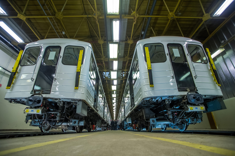 Nem indít nyomozást a rendőrség a felújított orosz metrókocsik miatt