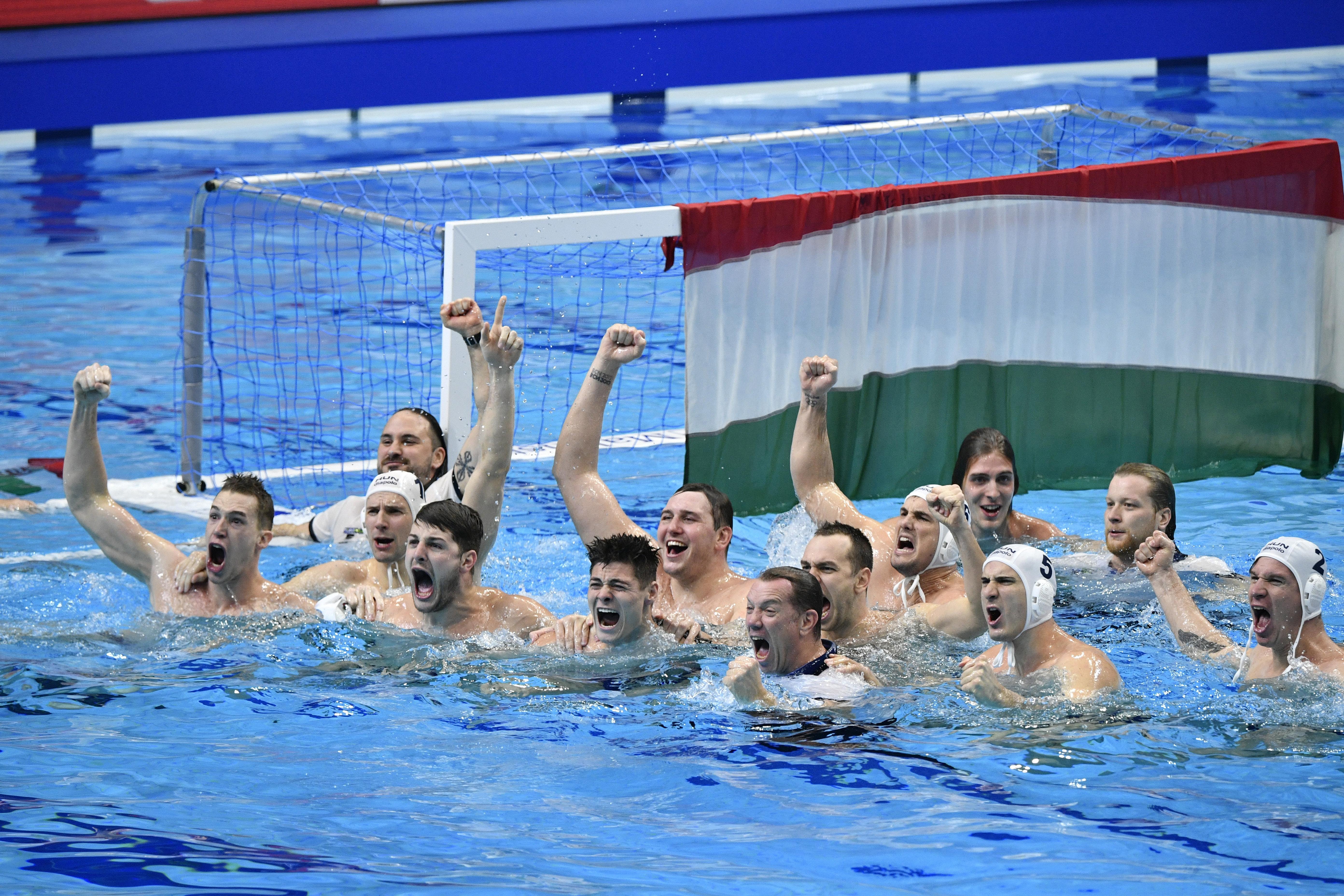 21 év után újra Európa-bajnok a magyar vízilabda-válogatott