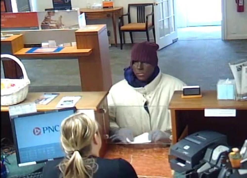 Feketének álcázva magát rabolt ki egy bankot egy amerikai férfi