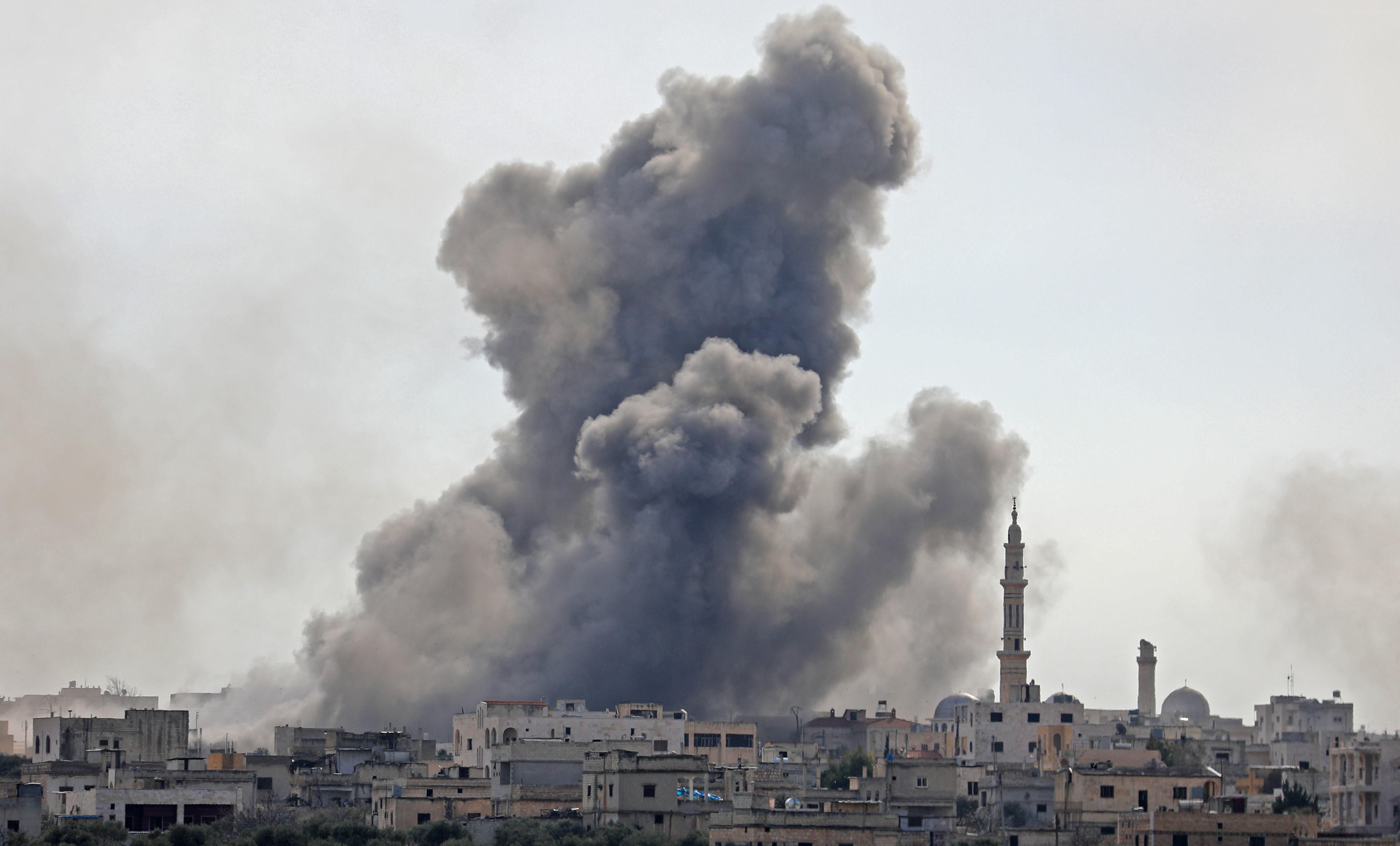 Török katonák haltak meg a szír hadsereg idlibi támadásában
