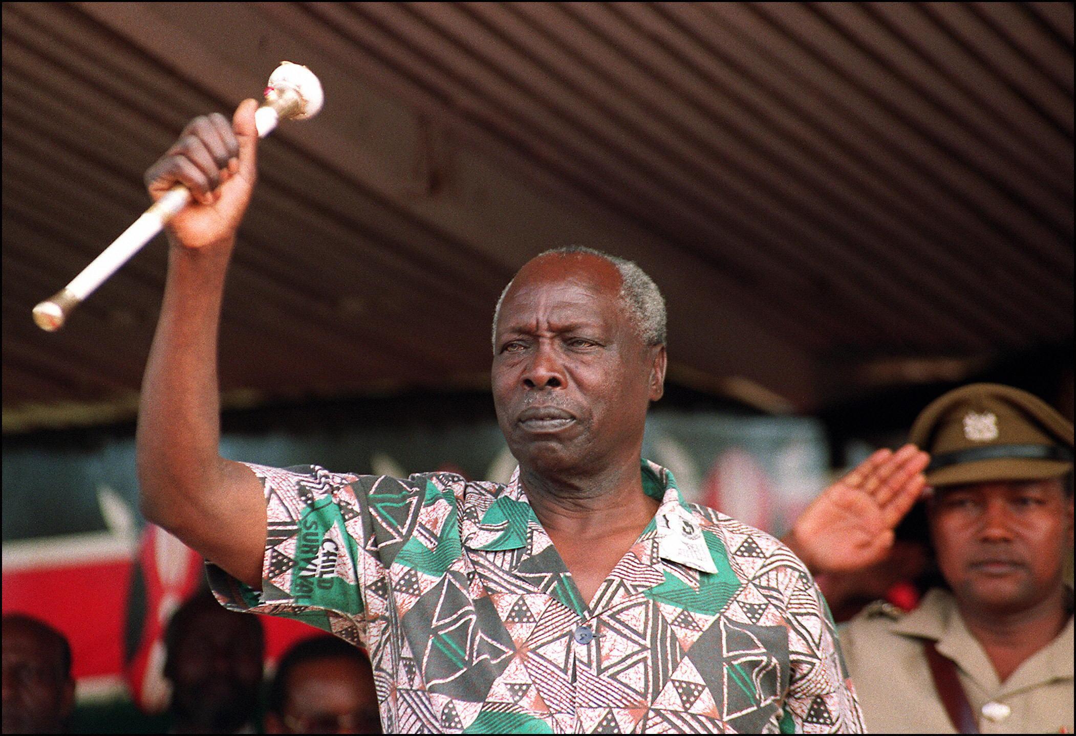 Meghalt Kenya korábbi diktátora