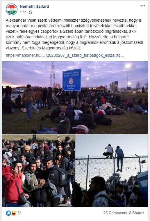 Egy KDNP-s képviselő szerint nem fake news egy eseményt egy máshol és máskor készült fotóval illusztrálni