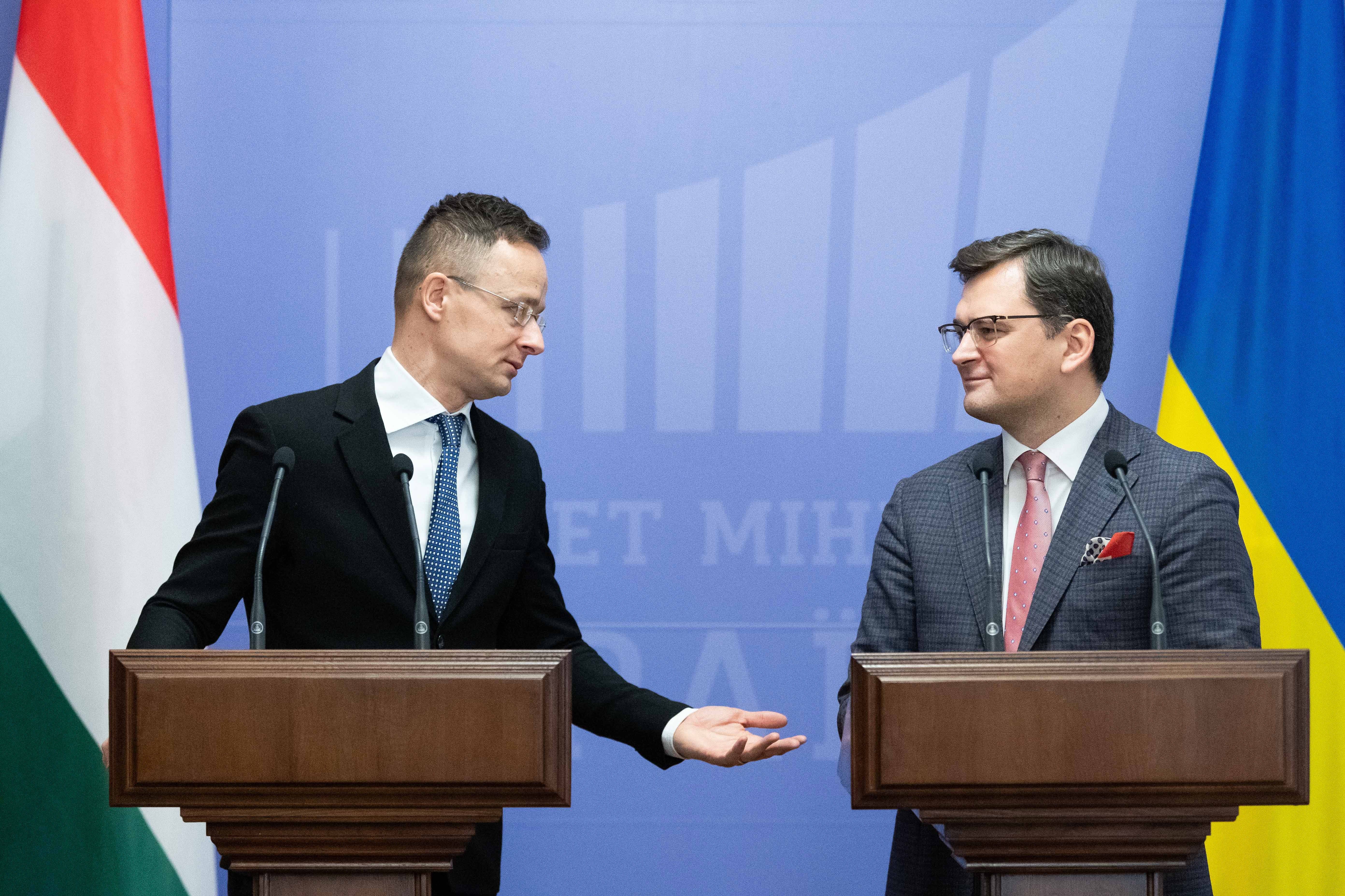 Az ukrán külügyminiszter szerint ők nem akarnak politikai harcot vívni Magyarországgal