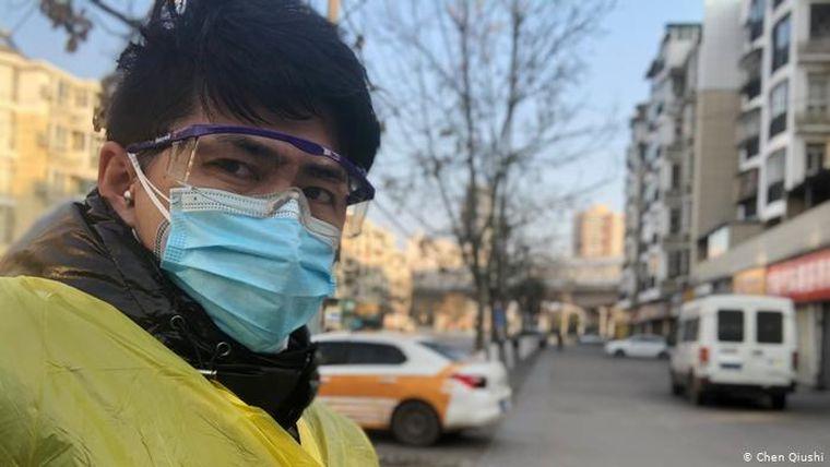 Nyom nélkül eltűnt a kínai férfi, aki kritikusan tudósított Vuhanból