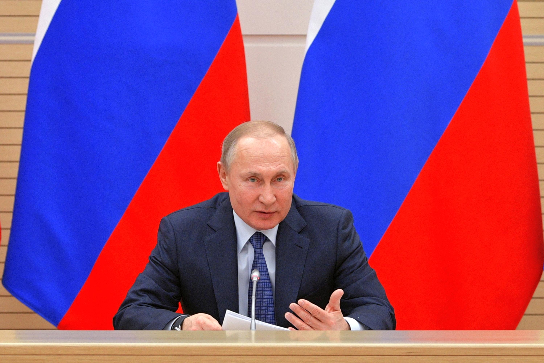 Putyin: Amíg én vagyok az elnök, itt nem lesz melegházasság