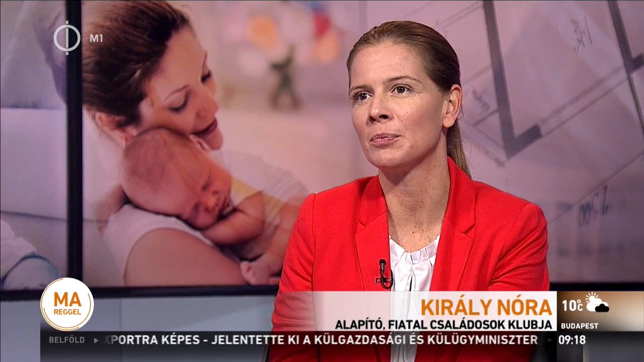 A kormány családpolitikáját dicsérte a köztévén a fideszes alpolgármester