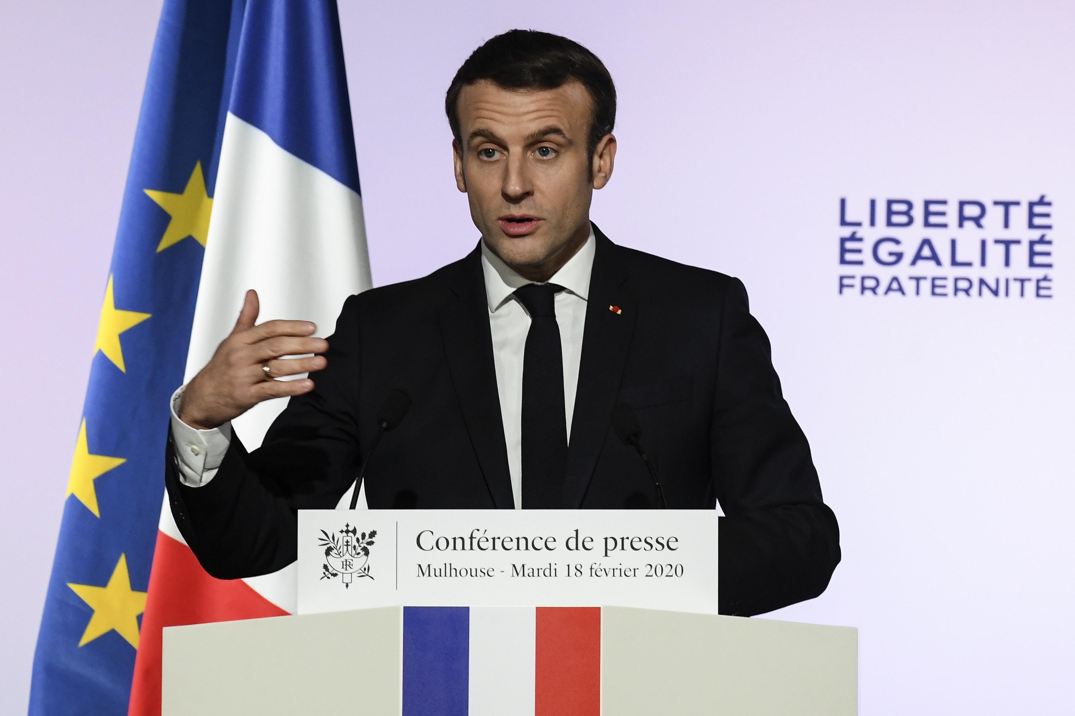 Macron programot hirdetett az iszlám szélsőségesség visszaszorításáért