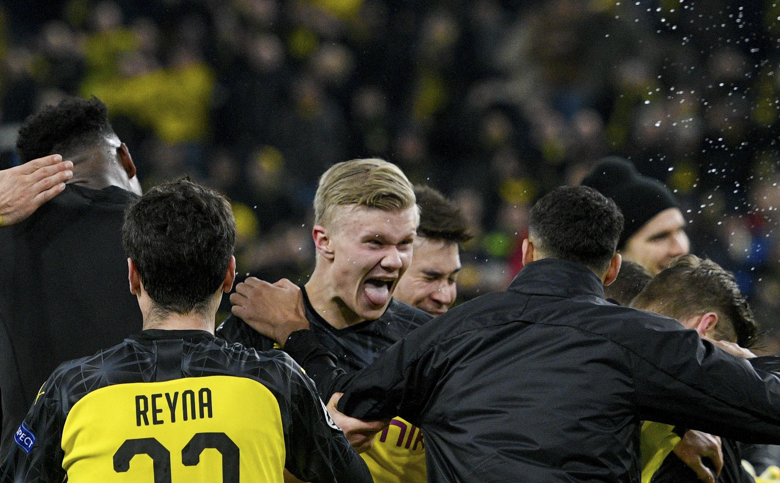 A következő évek fociistenei voltak a pályán a keddi Dortmund-PSG-n