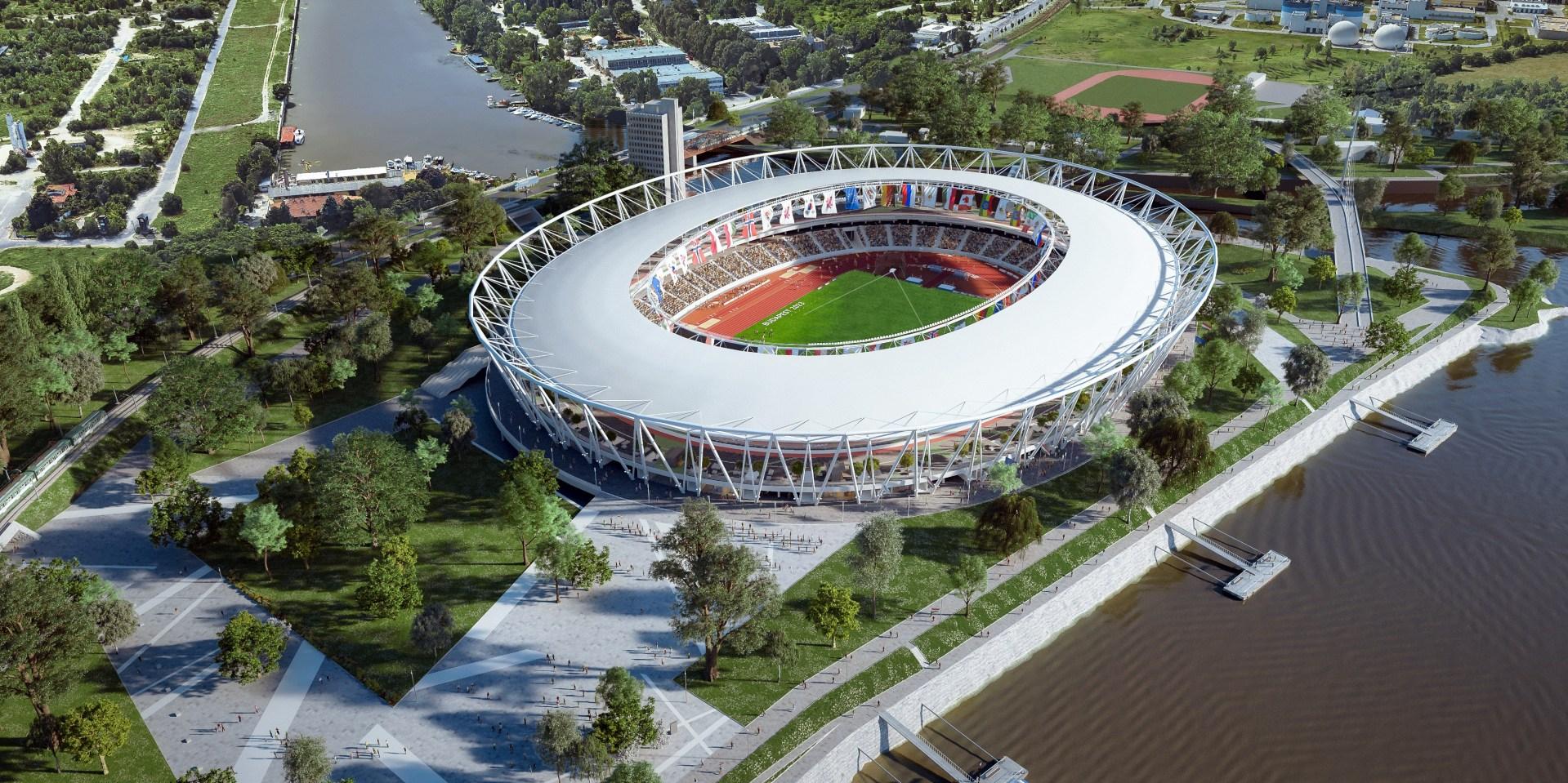 Fingers crossed: Mészárosék konzorciuma még versenyben van az atlétikai stadion építéséért