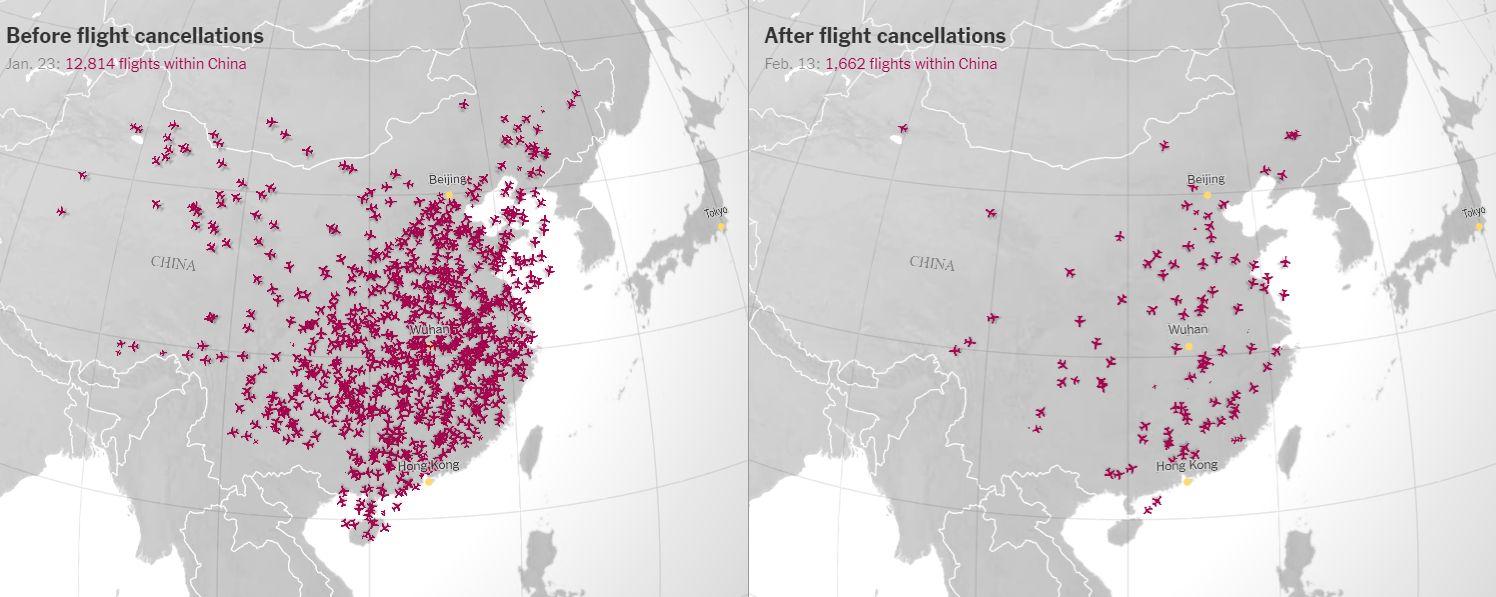 Eltűnt az égről napi 13000 repülő