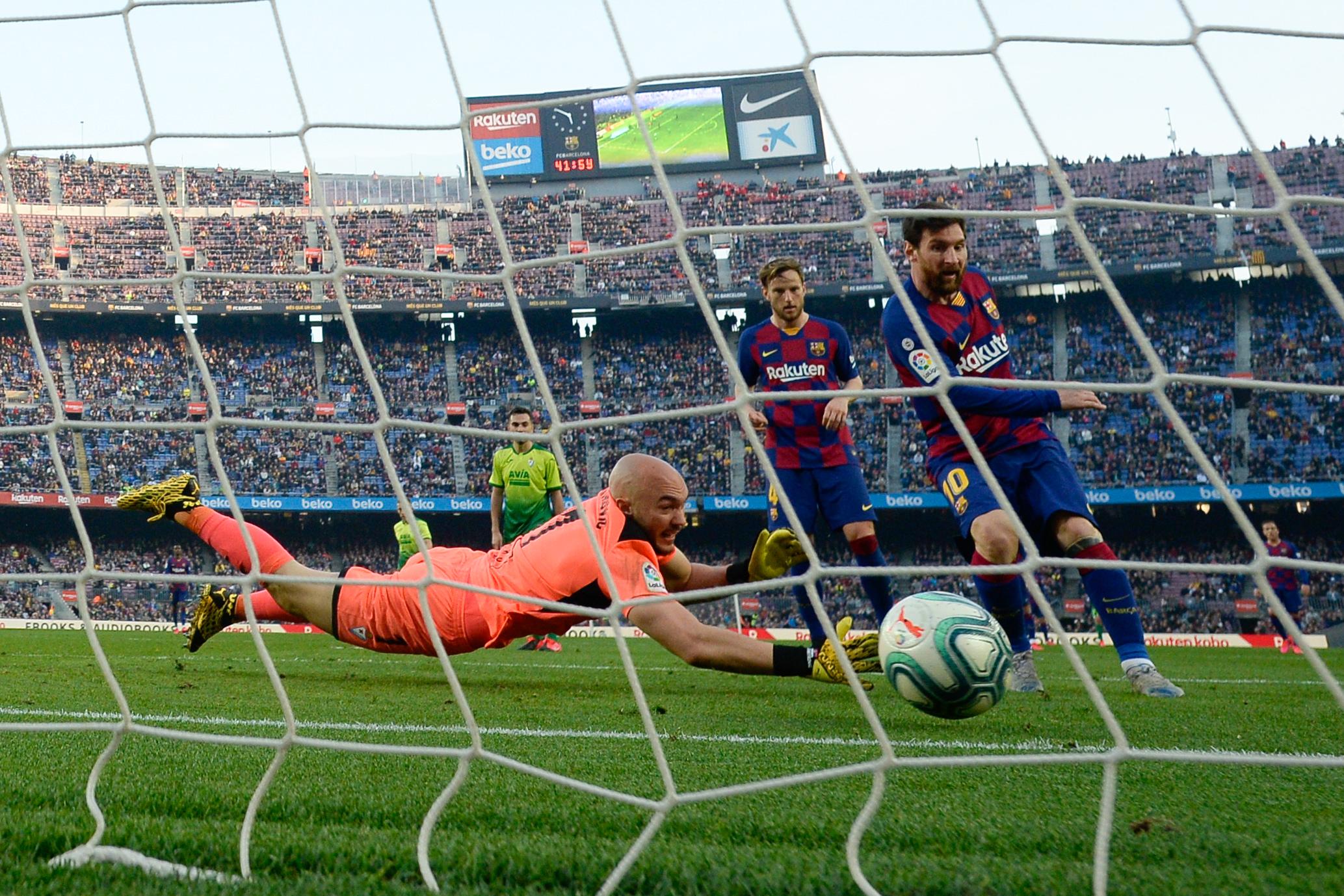 Messi négy gólt rúgott az Eibarnak