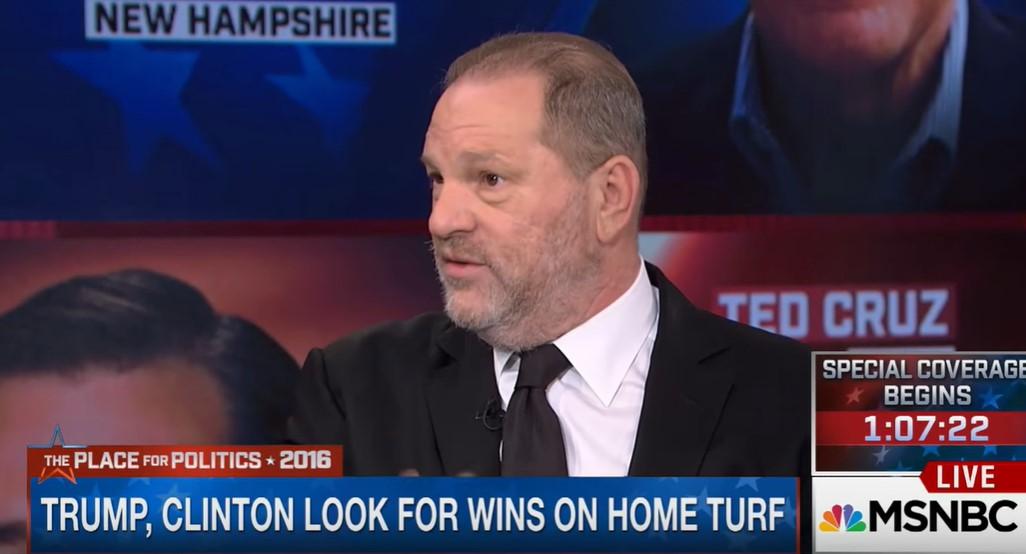 Erős élmény most visszanézni a videót, amin Harvey Weinstein megbecsült emberként szexistázta Bernie Sanderst