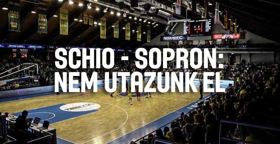 A soproni kosárlabdacsapat Ljubljanába sem utazik el, ahol olasz csapat ellen játszanának