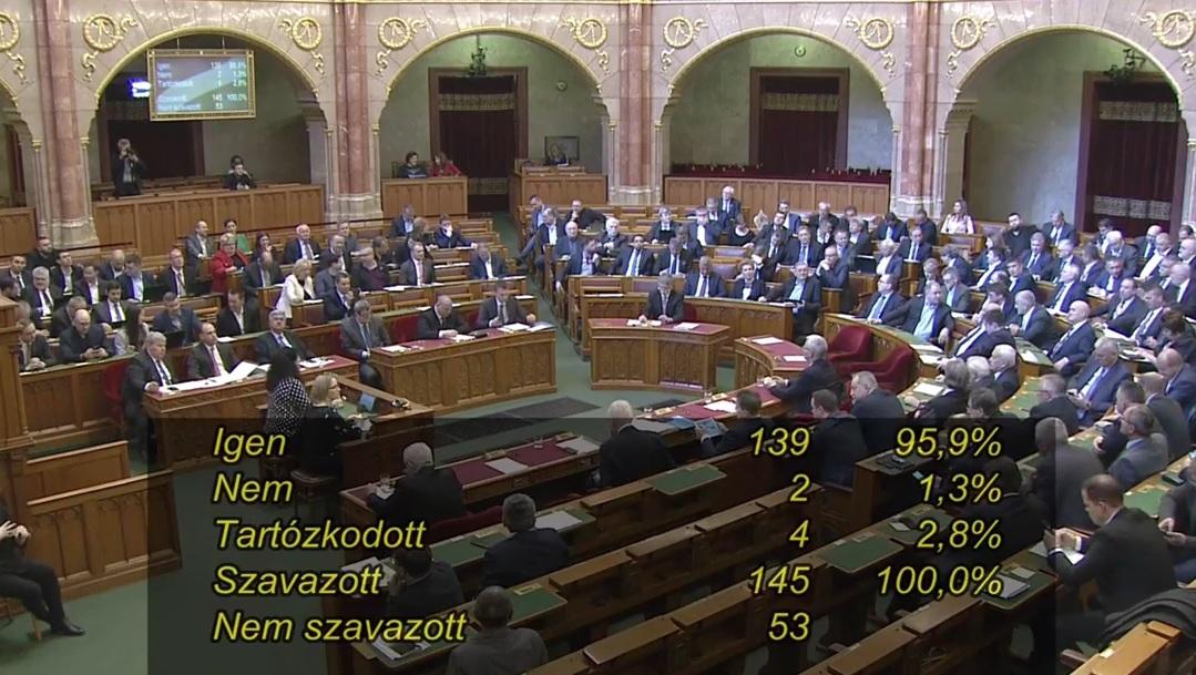Megszavazta a parlament: felfüggesztik a börtönviszonyok miatti kártérítések kifizetését