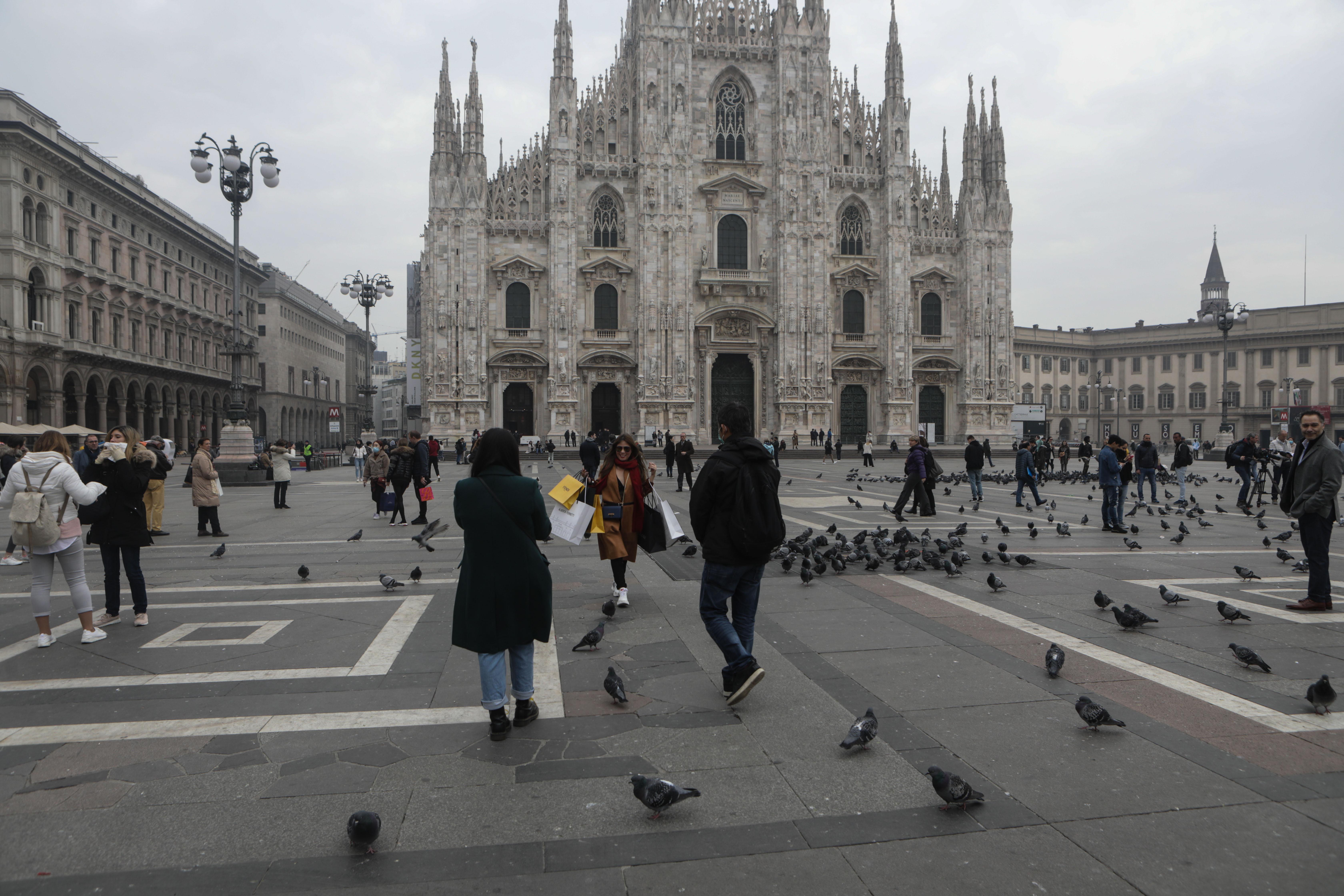 Koronavírusos lett egy újságíró, aki focimeccsről tudósítani utazott Milánóba