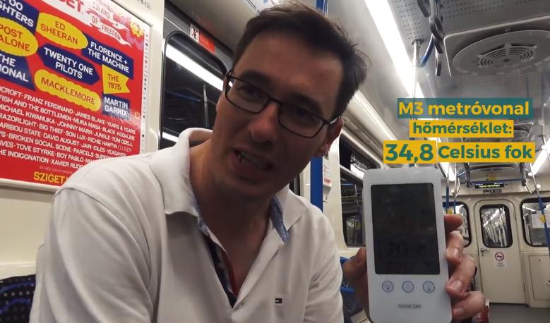 Idén nyáron sem lesz légkondi a 3-as metró szerelvényein