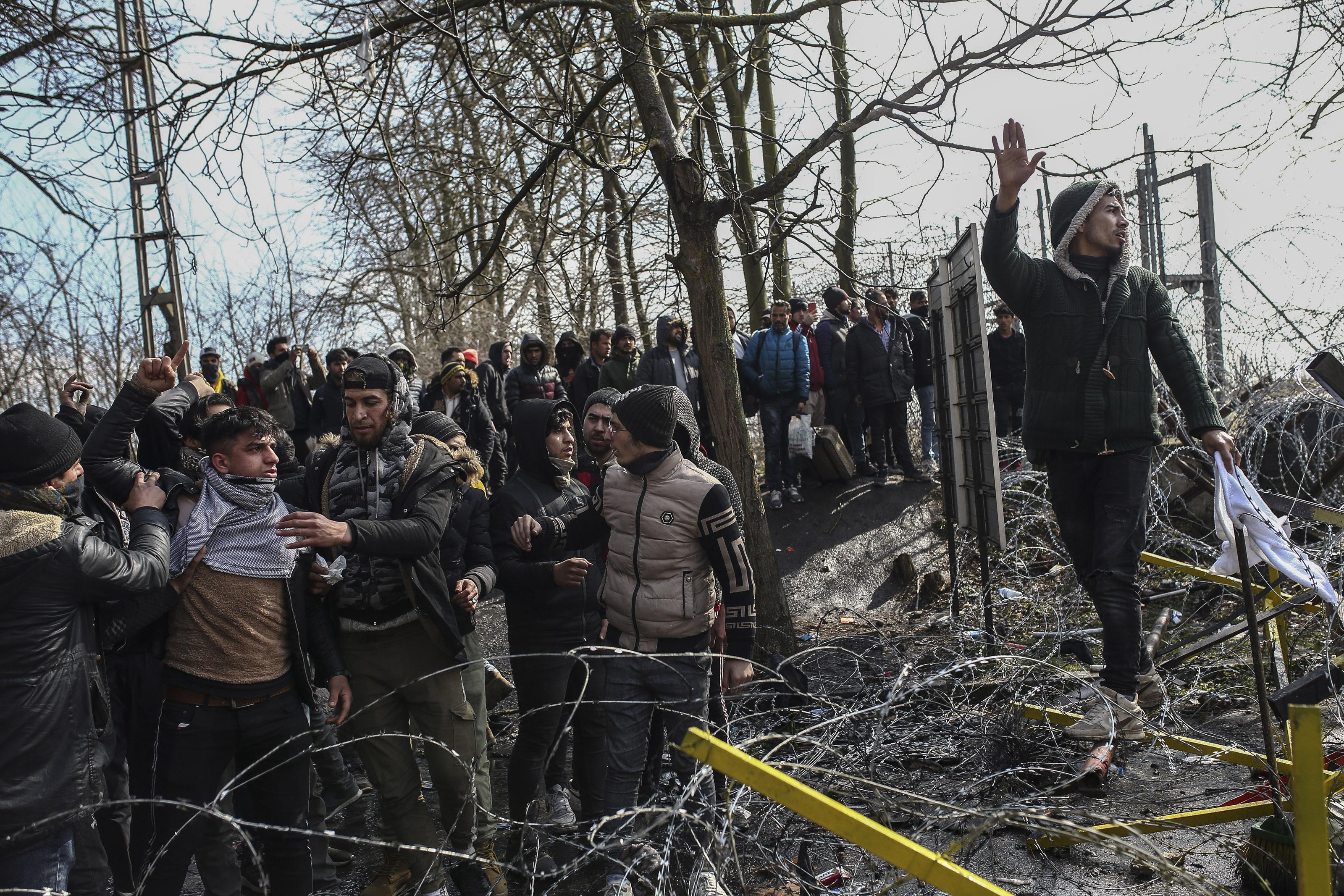 Majd 10 ezer ember EU-ba lépését akadályozta meg a görög határőrség a görög-török határon