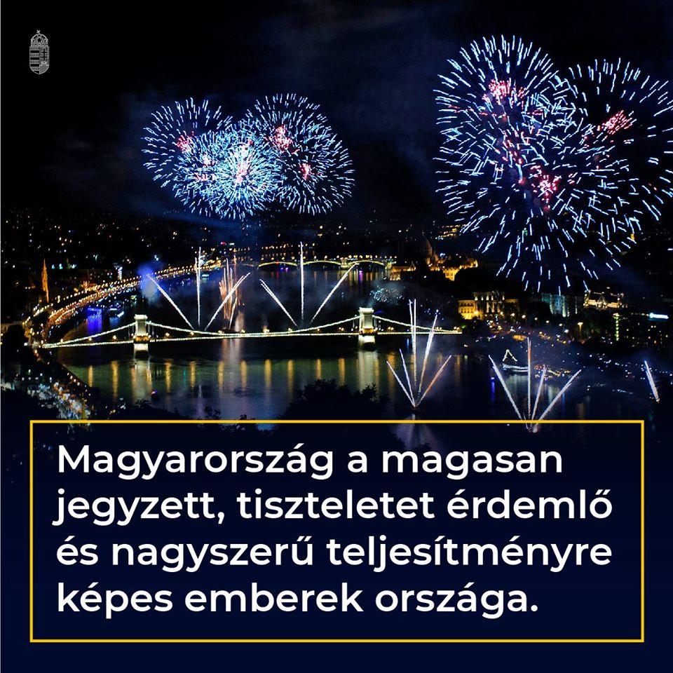 Titokzatos értelmű kampányfotóval hízeleg a magyar kormány, feltehetőleg a pirotechnikusoknak és rakétakezelőknek