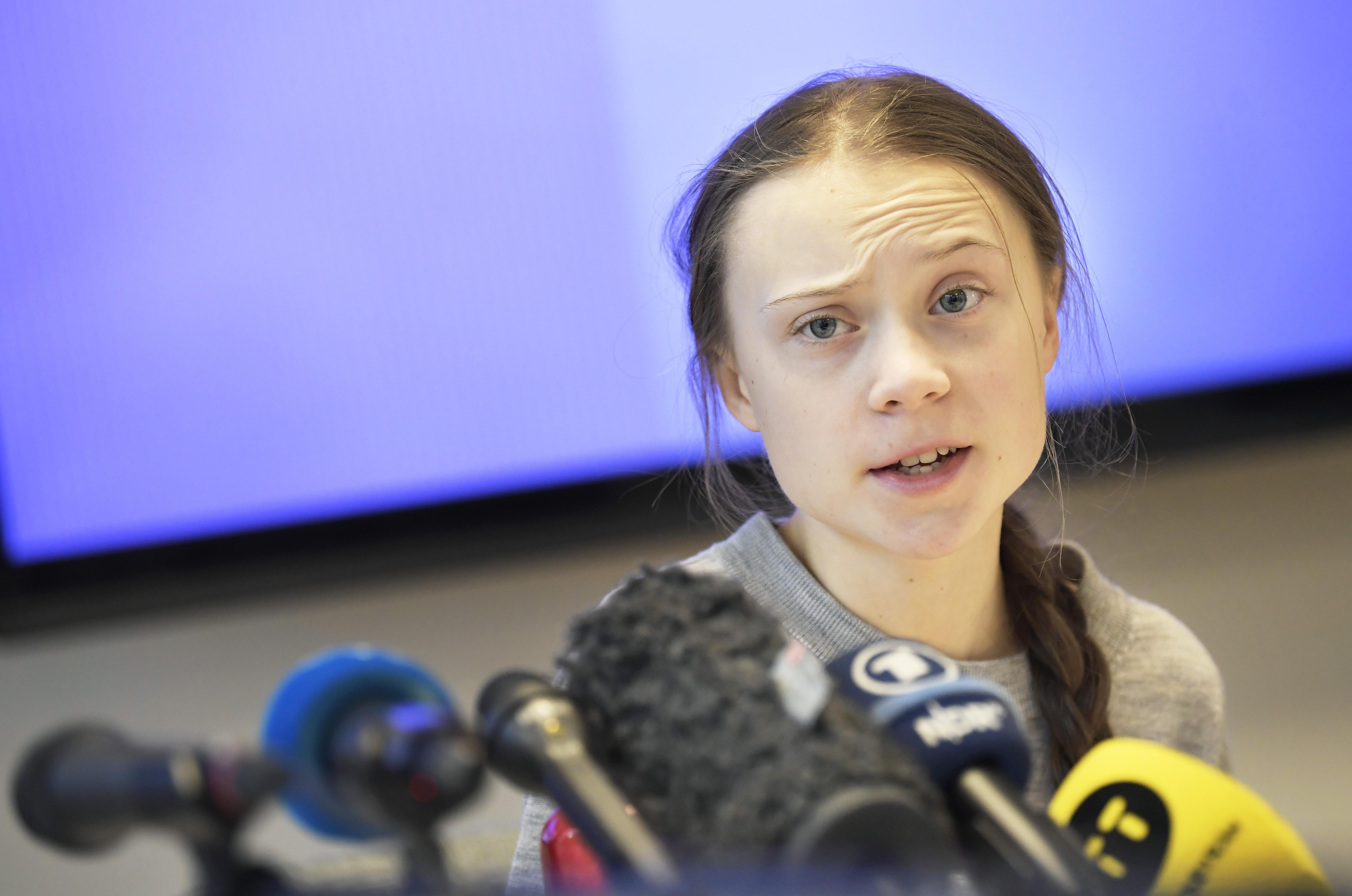 Greta Thunberg 11 hónapot várt arra, hogy visszaszólhasson Donald Trumpnak