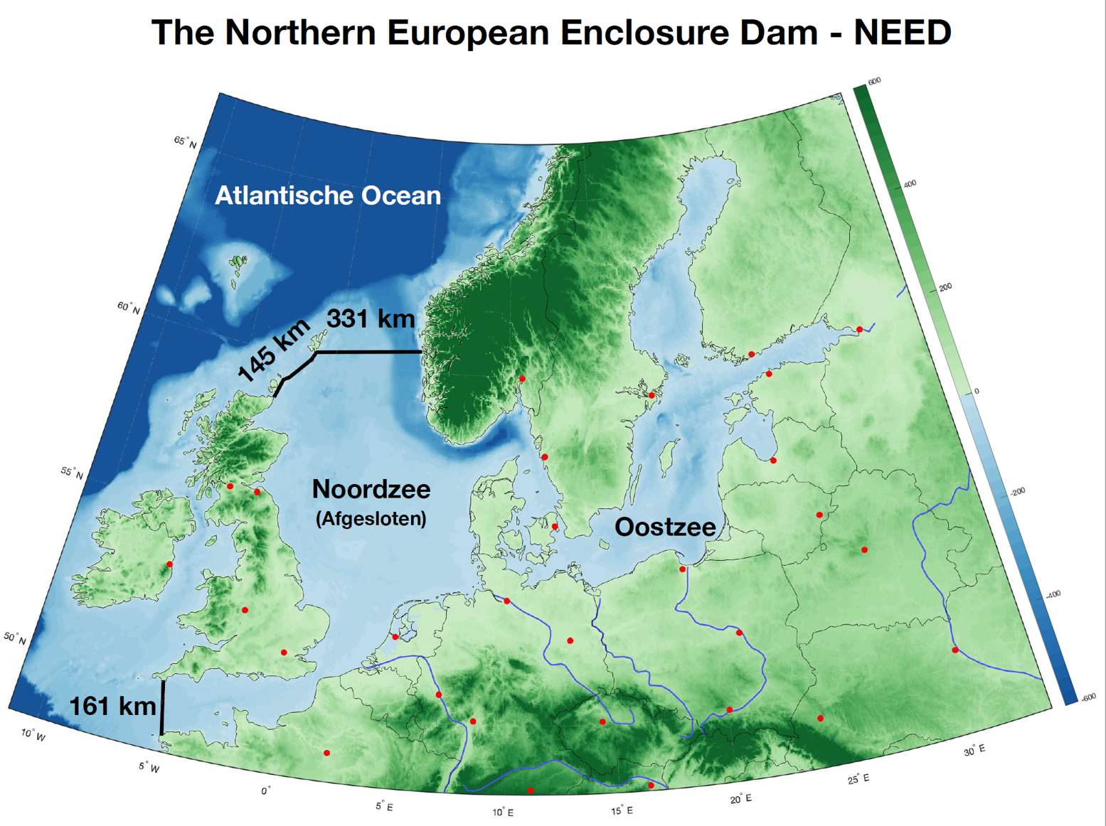 637 kilométer hosszú fallal védenék Európát a globális felmelegedéstől