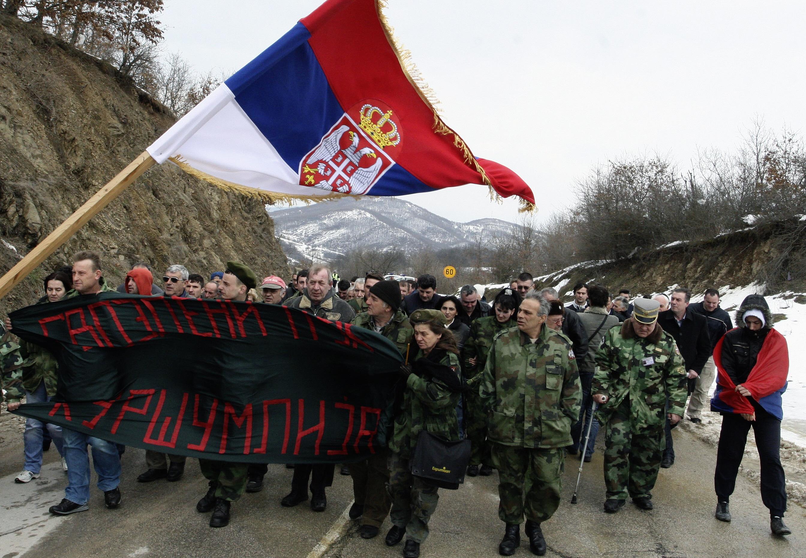Letartóztattak egy háborús bűnökkel gyanúsított szerb férfit