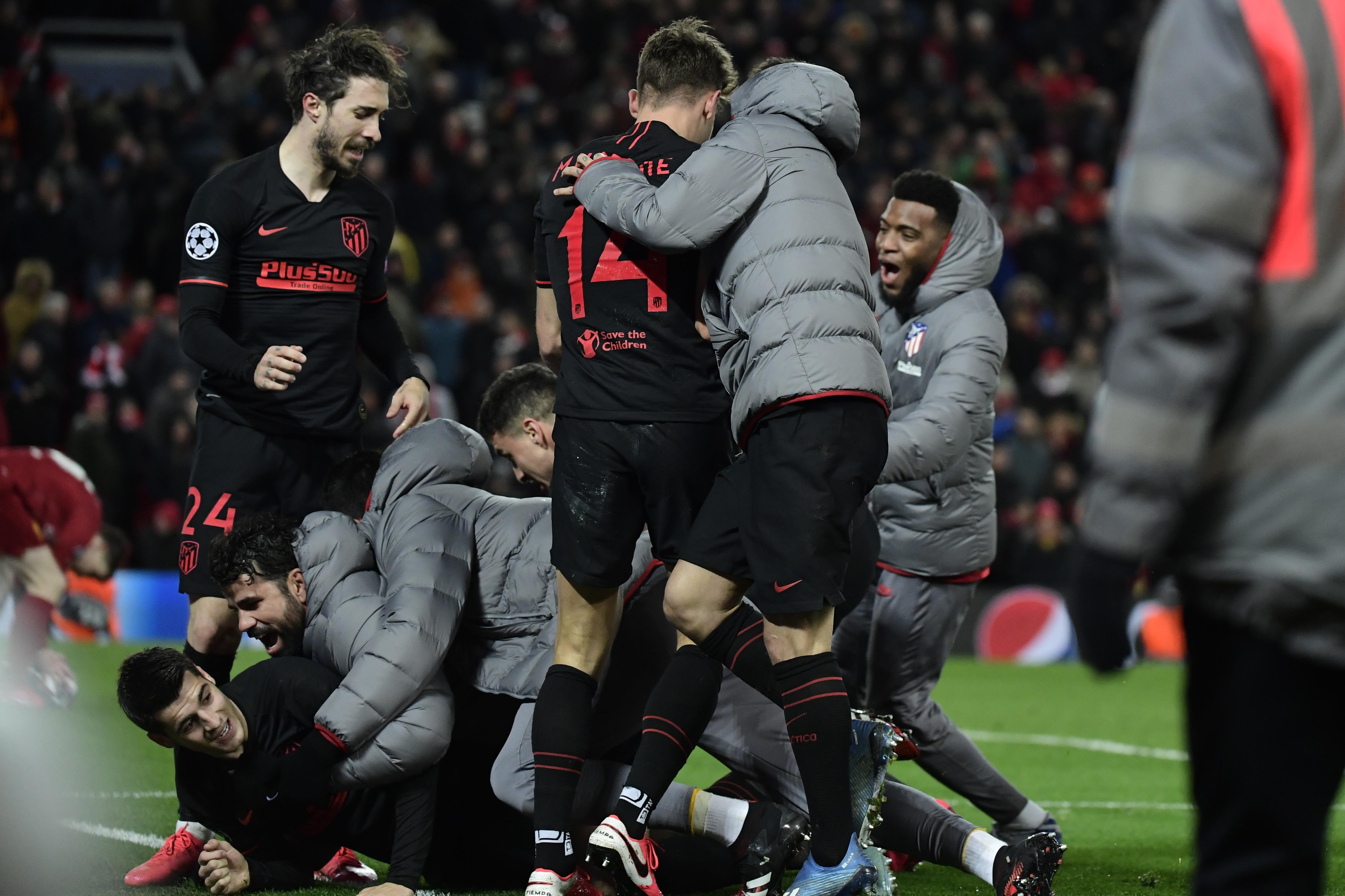 Az Atletico a hosszabbításban hármat lőtt, és kiverte a Liverpoolt a BL-ből