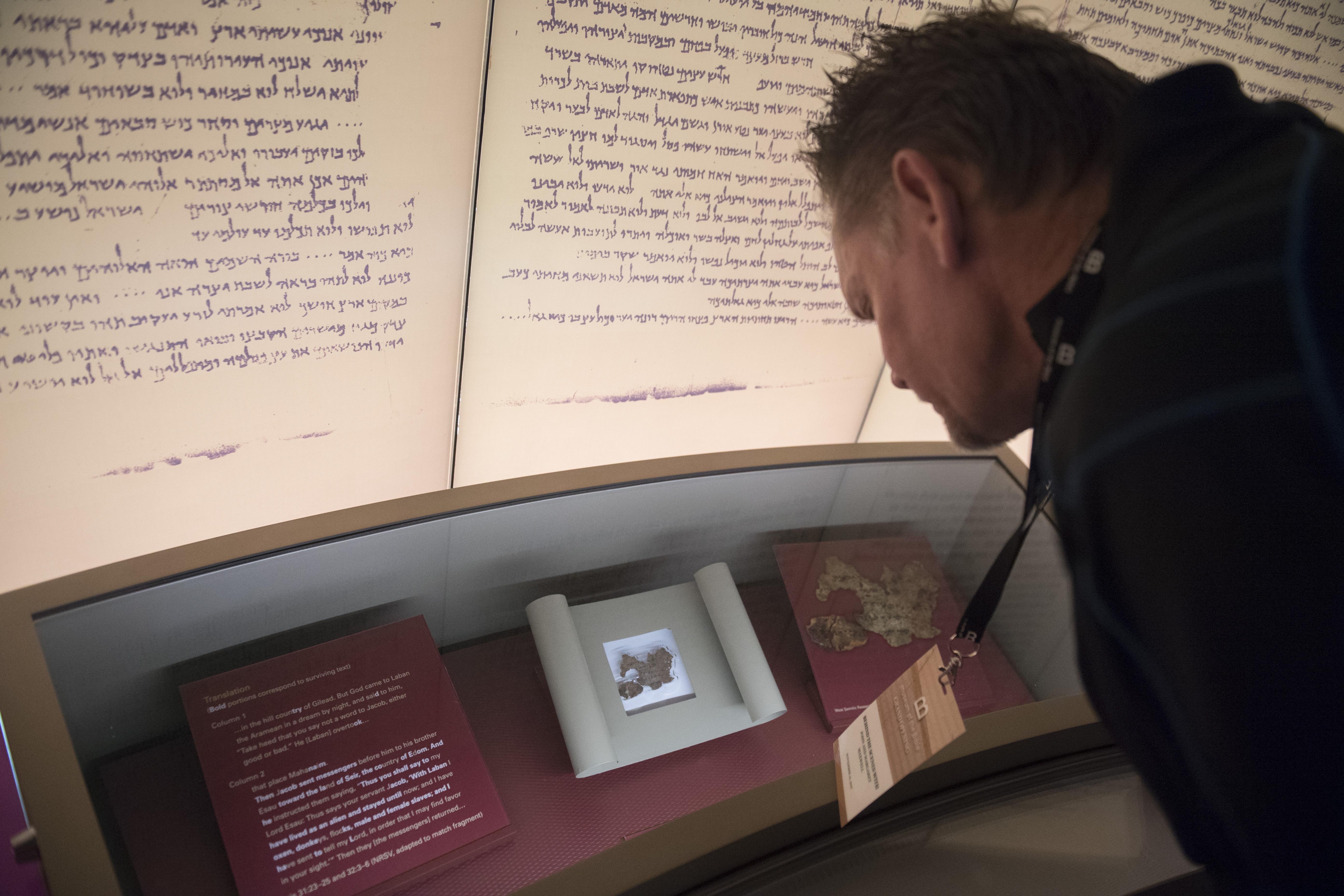 Hamisítványok a washingtoni Bibliamúzeum Holt-tengeri tekercsei