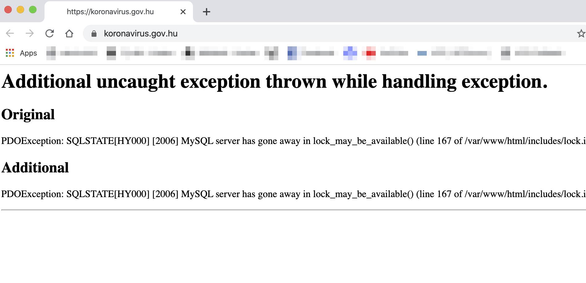 A kormány szerint hackertámadás miatt állt le a koronavirus.gov.hu