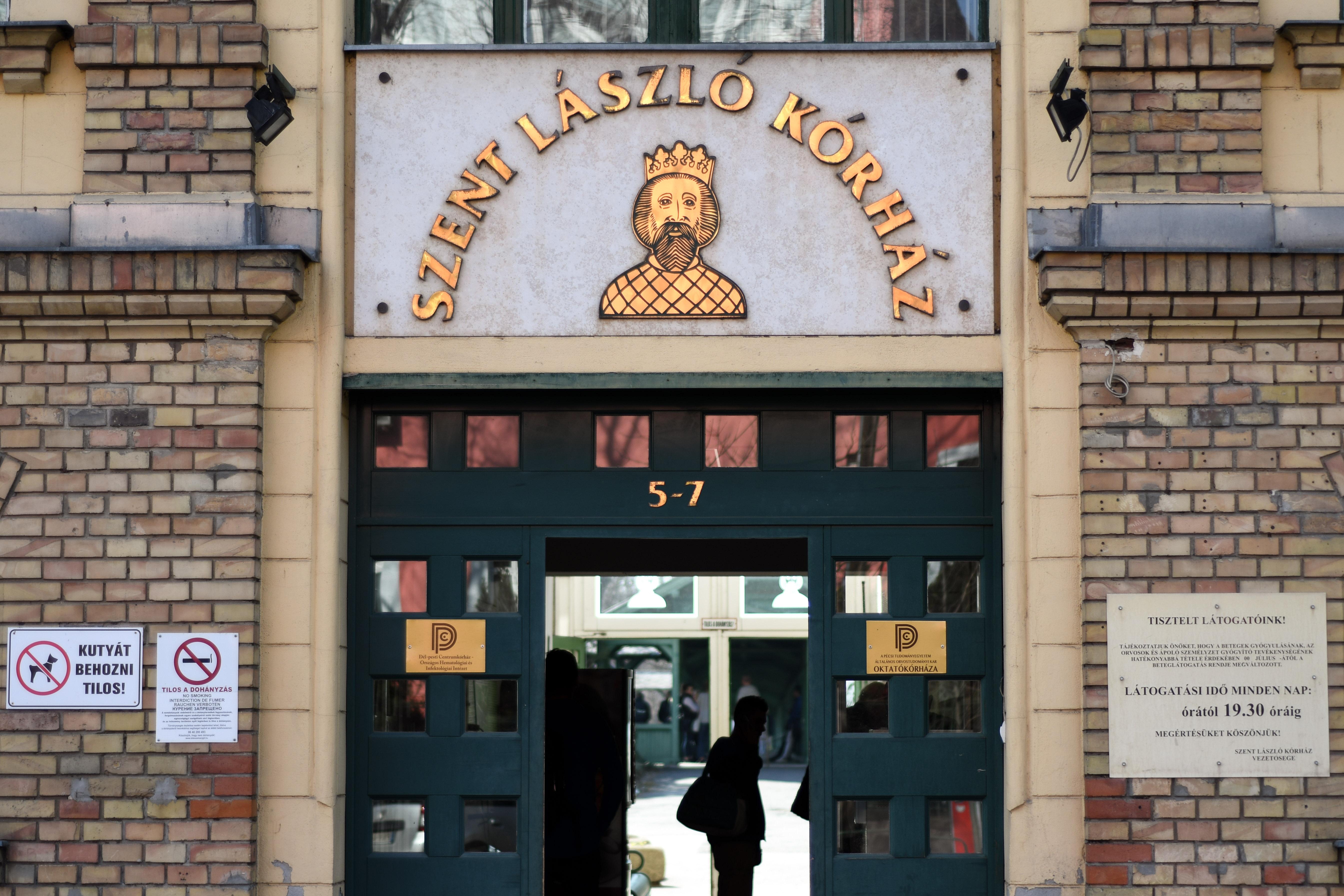 Megfertőződött a Szent László Kórház egyik dolgozója