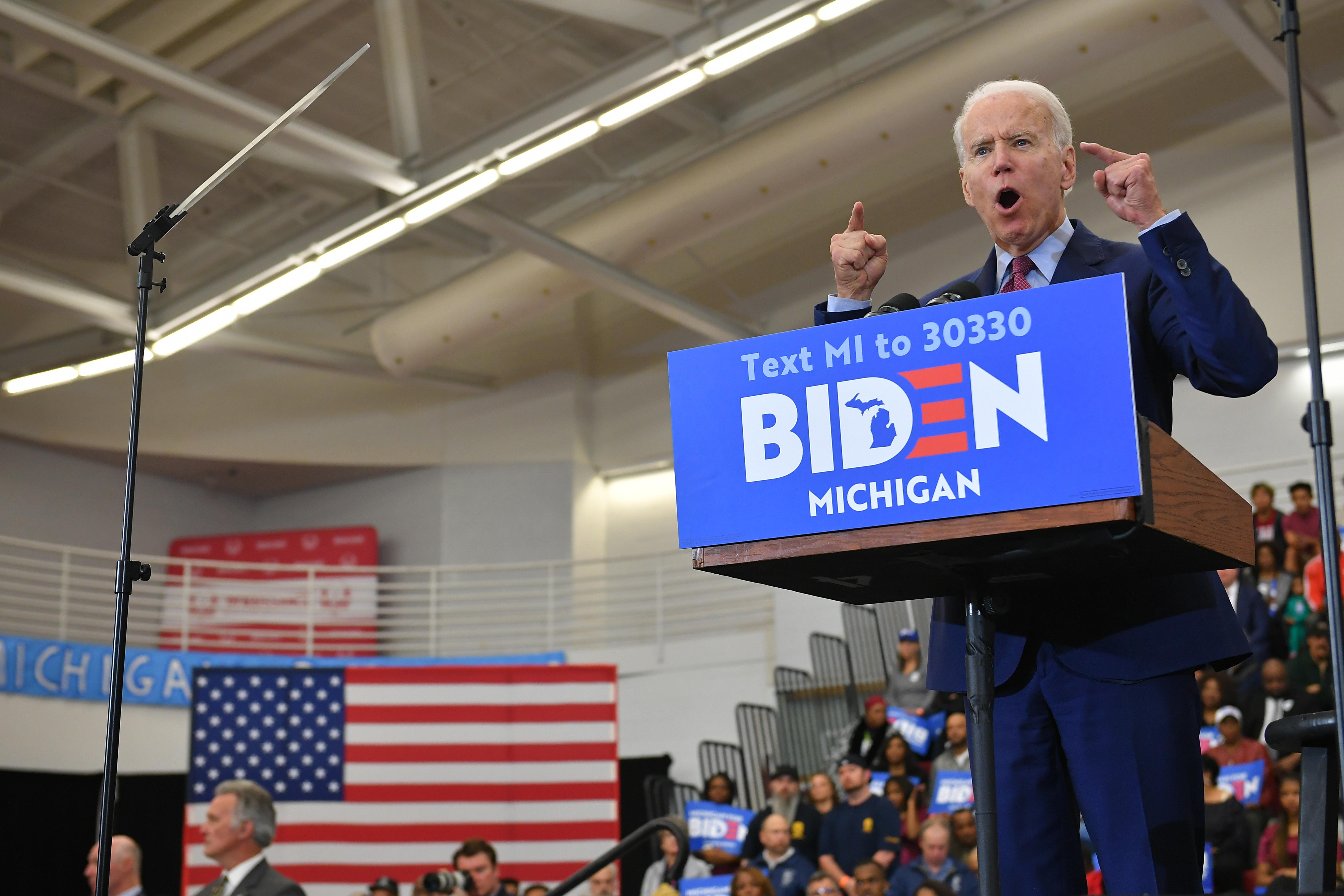 Három államban is Joe Biden nyerte az előválasztást