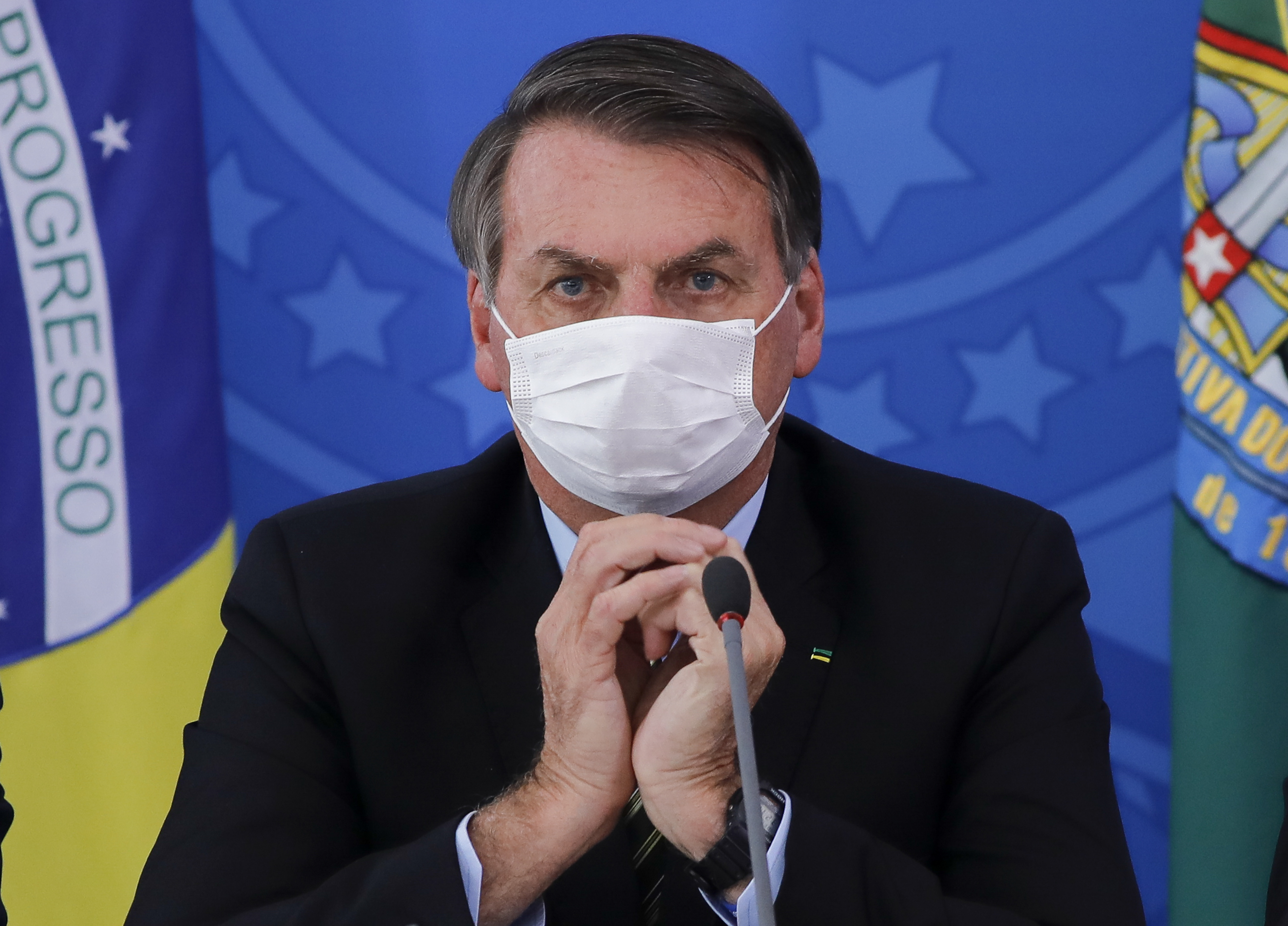 Bolsonaro brazil elnök második fia is koronavírusos lett