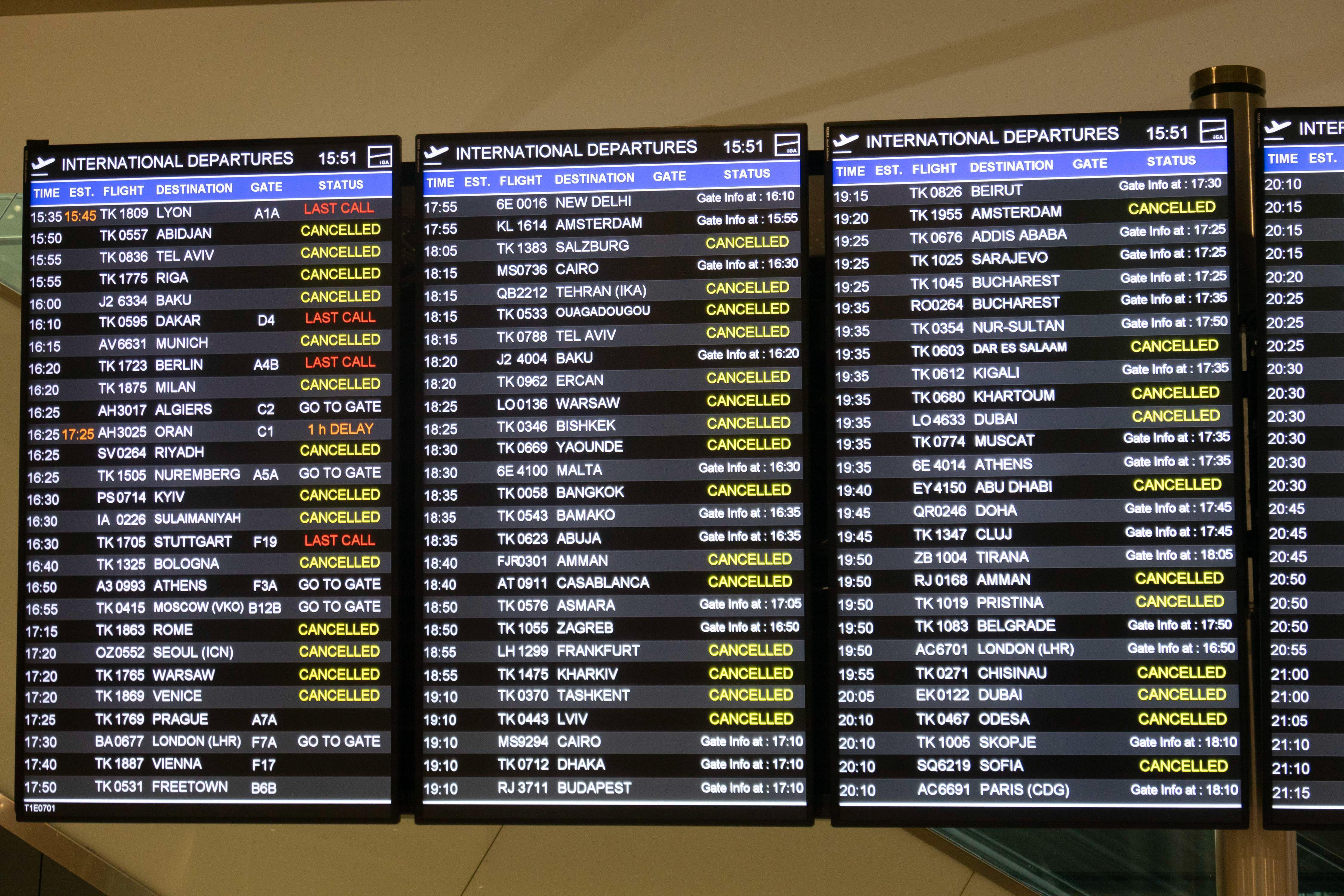 Törökország is kapcsol: leállította szinte az összes járatát a Turkish Airlines, a világ legtöbb városába repülő légitársaság