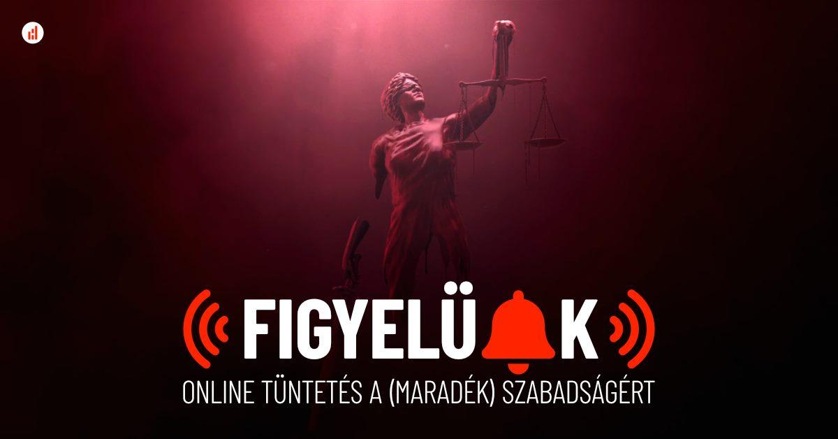 Online tüntetést szerveznek vasárnap estére a felhatalmazási törvény ellen