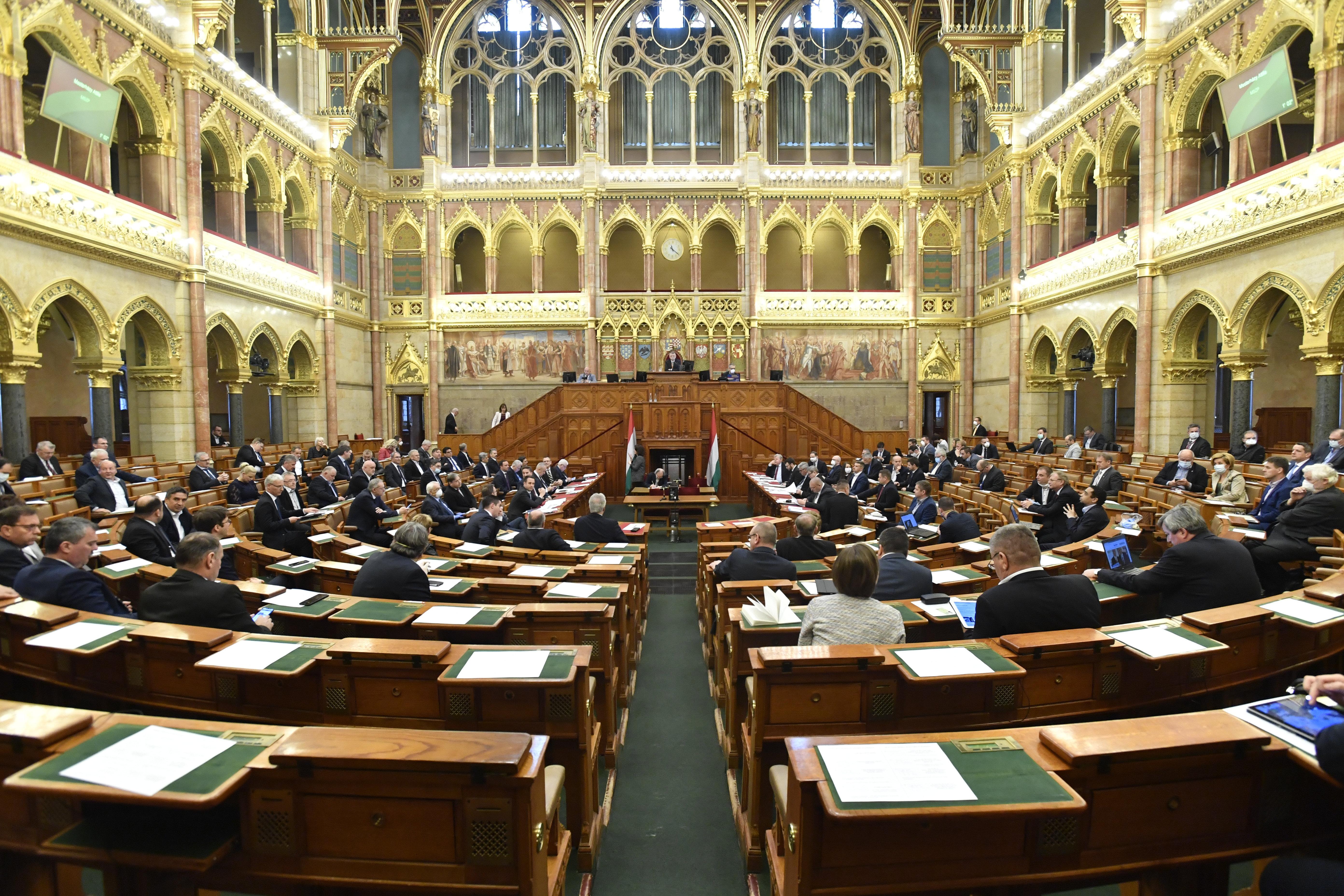 A kormánypárti többség megszavazta a felhatalmazási törvényt