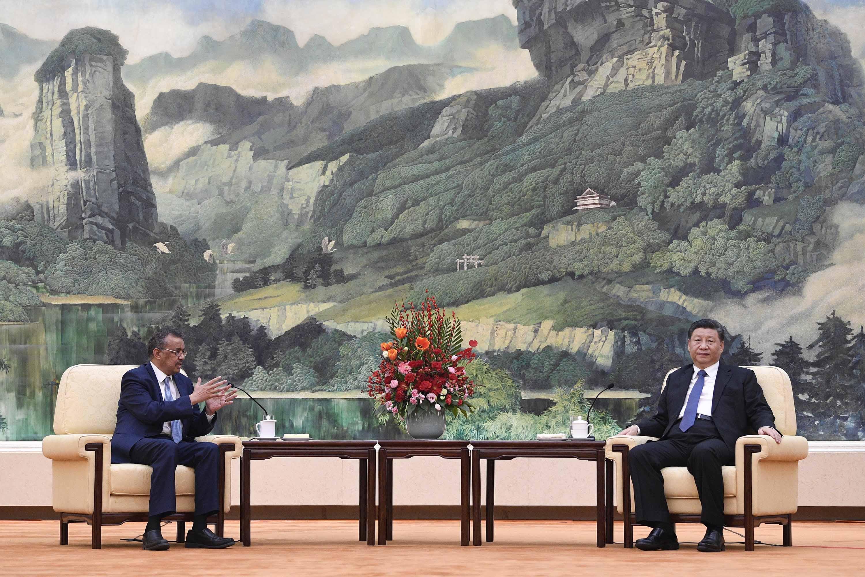 Akármi az igazság, a WHO Kínával van